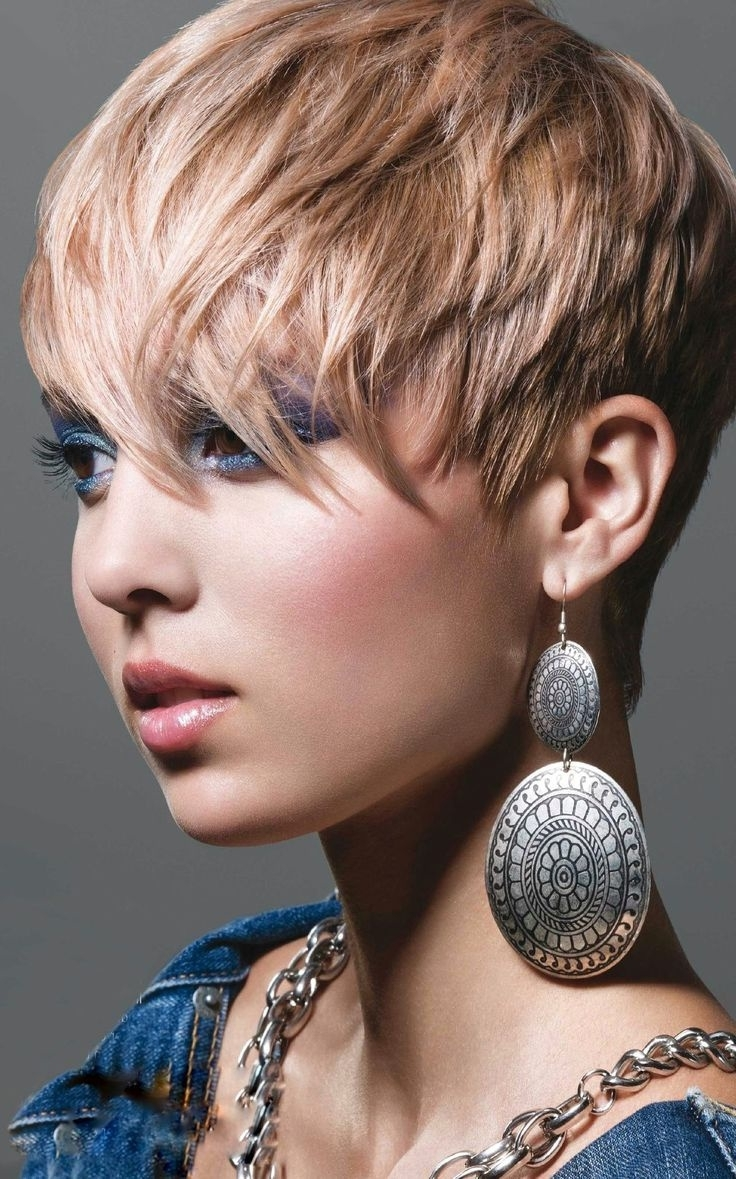 Amazing Choppy Pixie Hairstyles – Hairstyles Ideas Inside Well Known Choppy Pixie Fade Hairstyles (View 17 of 20)