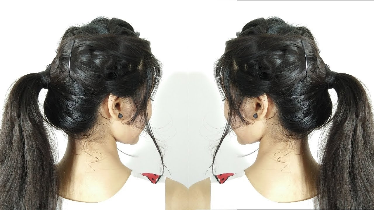Amazing Messy Braided Ponytail Hairstyle (View 3 of 20)