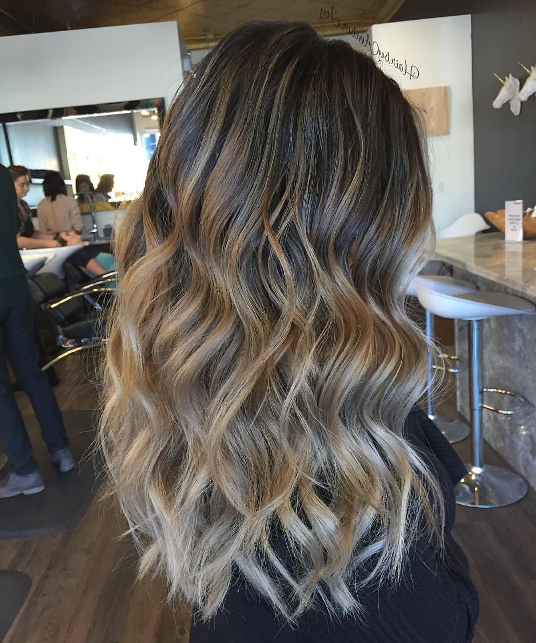 "Amber Joy Rogan On Instagram: ""Sandy Colormelt & Tousled Waves Intended For Most Current Amber Waves Blonde Hairstyles (View 7 of 20)"