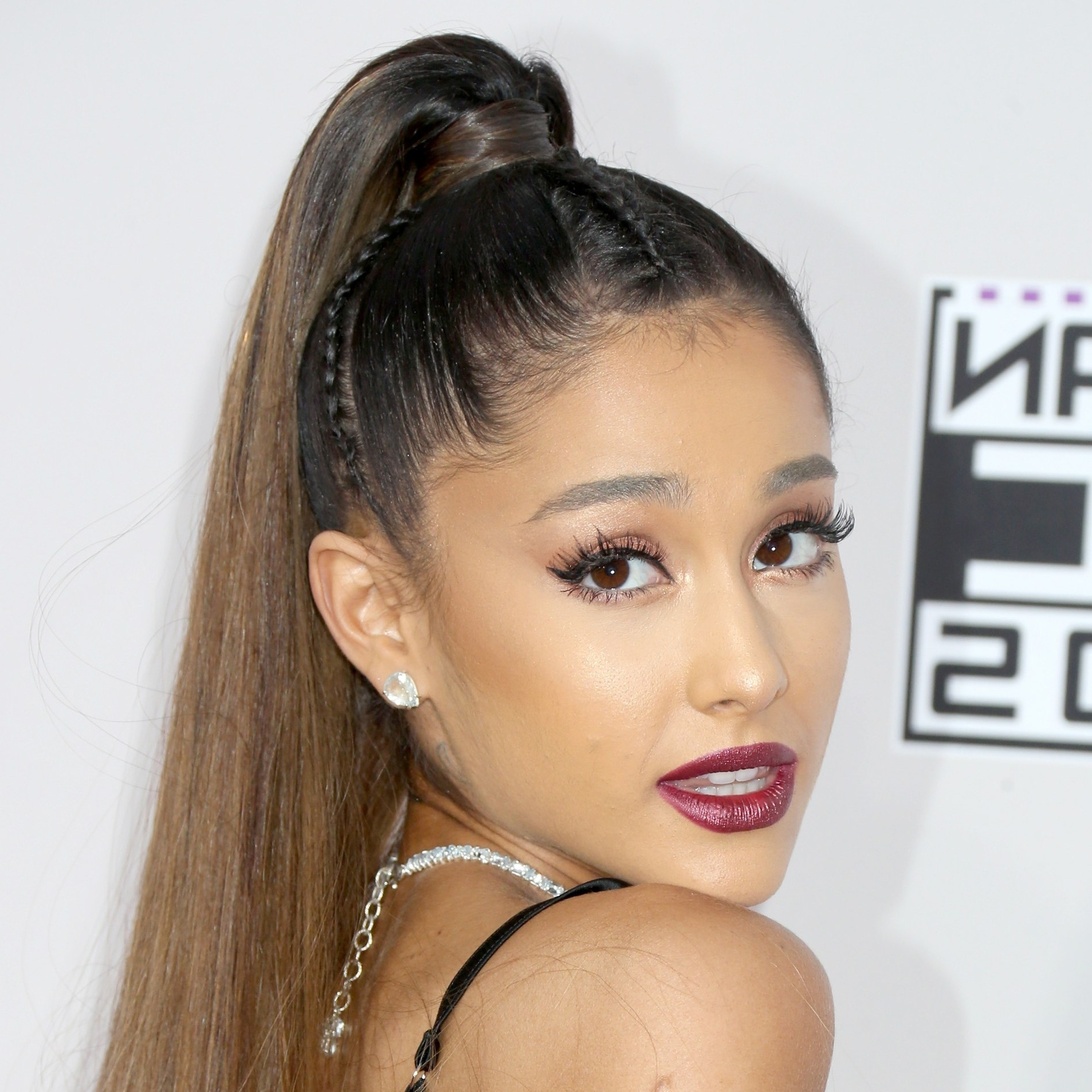 Ariana Grande's Cornrow Ponytail Just Won The Amas 2016 – Allure Throughout Latest Tight And Sleek Ponytail Hairstyles (View 11 of 20)