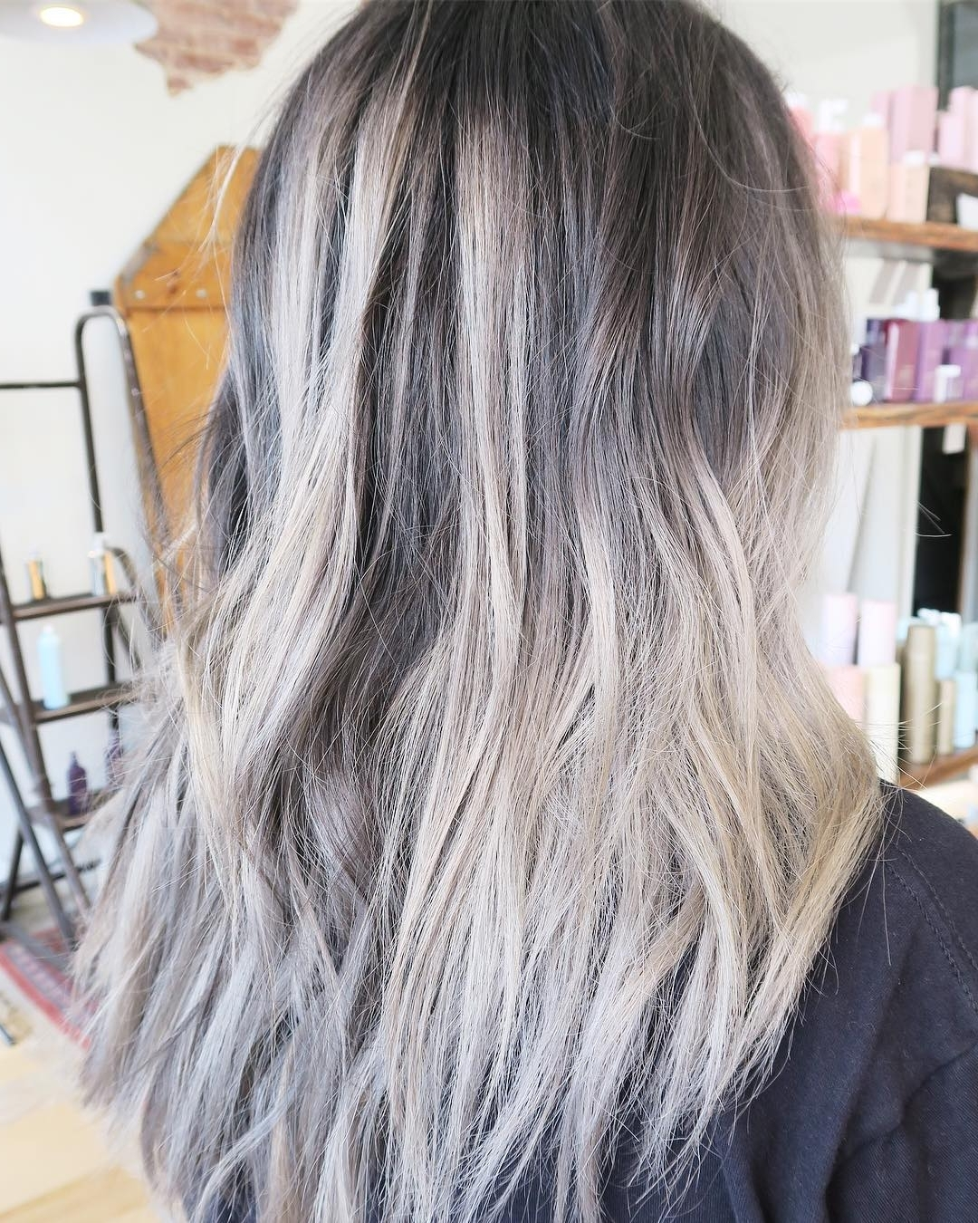 Artisinalhaircompany – Hash Tags – Deskgram Within Latest Grayscale Ombre Blonde Hairstyles (View 4 of 20)
