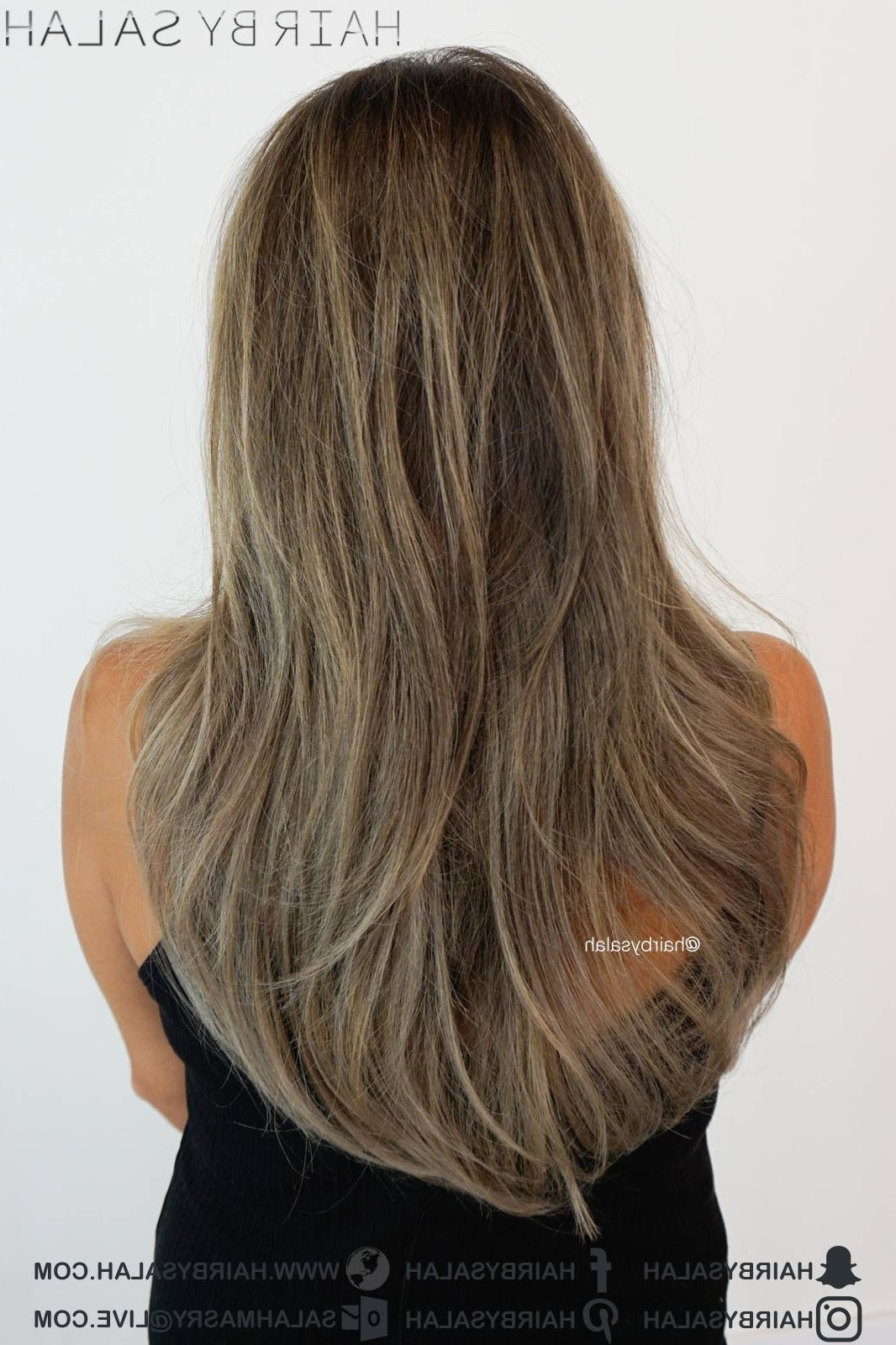 Ash/beige Dark Blonde Hair – Hairsalah With Regard To Fashionable Beige Balayage For Light Brown Hair (Gallery 8 of 20)