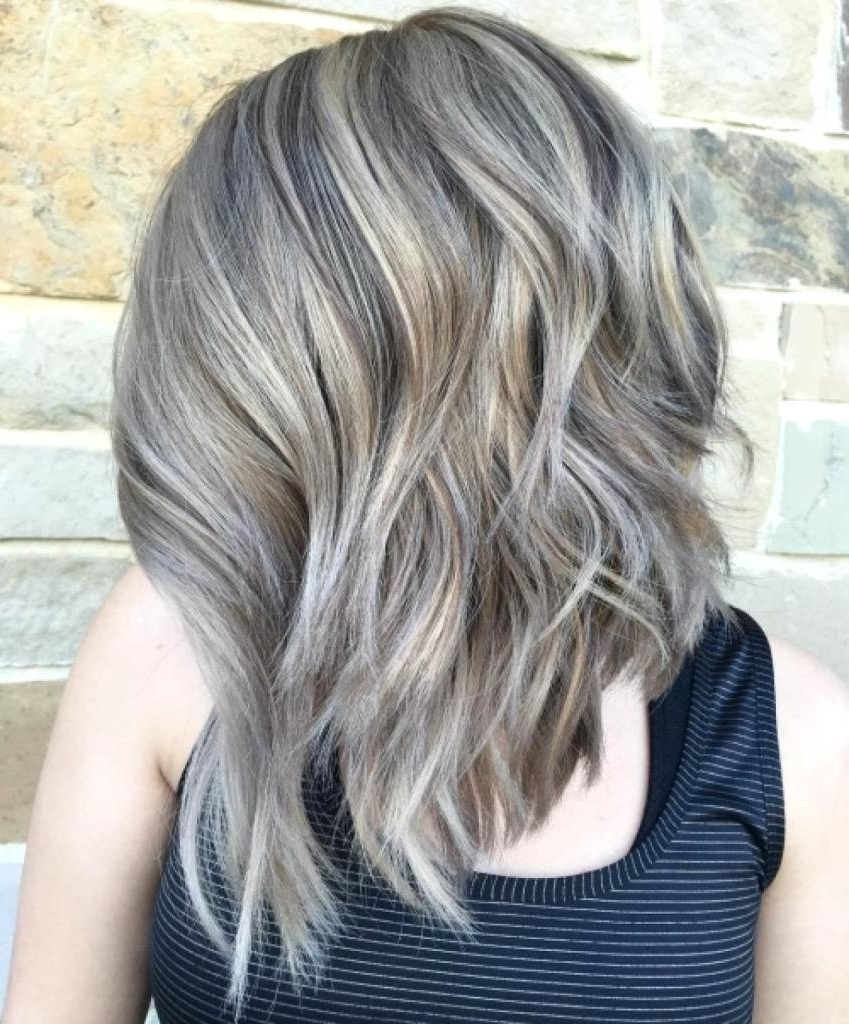 Ash Blonde Hair With Grey Highlights – Coolhairstyles (View 4 of 20)