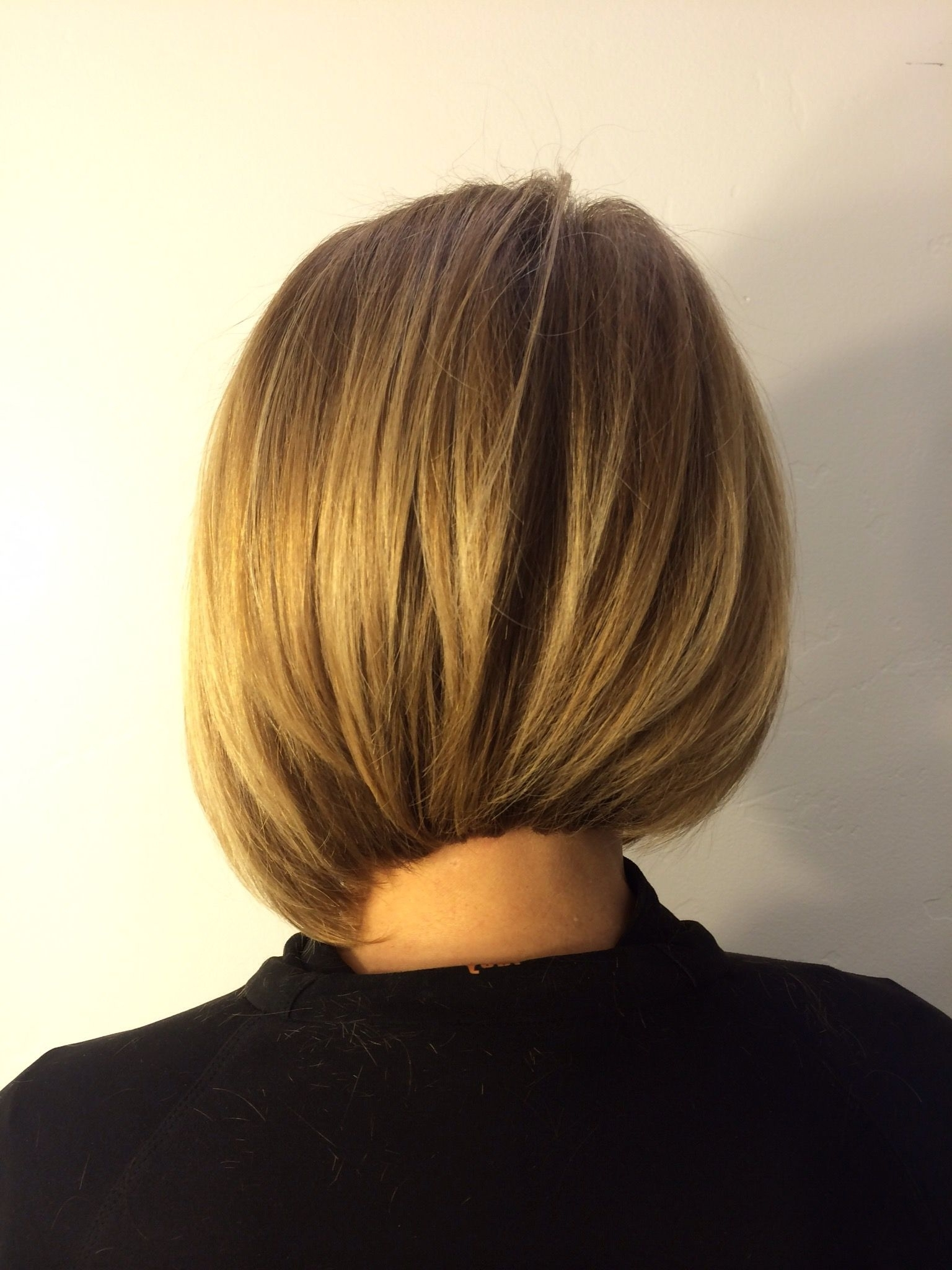Asymmetrical Bob, A Line Bob, Undercut, Balayage, Golden Blonde, San For Latest Asymmetry Blonde Bob Hairstyles Enhanced By Color (Gallery 7 of 20)