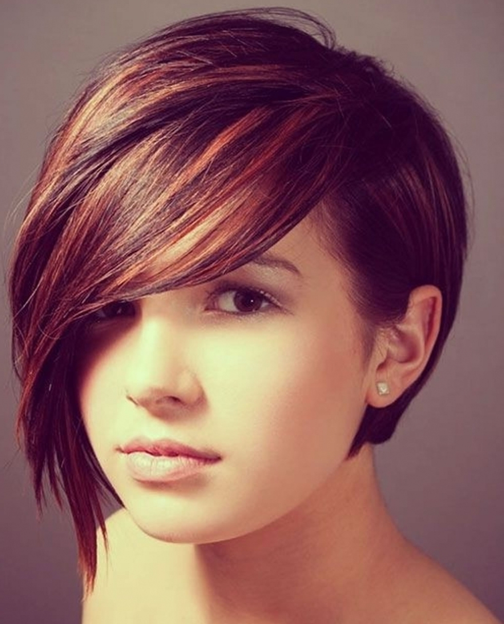 Asymmetrical Short Thick Hair Round Faces 2018 – Hairstyles With For Well Known Asymmetrical Long Pixie Hairstyles For Round Faces (View 6 of 20)