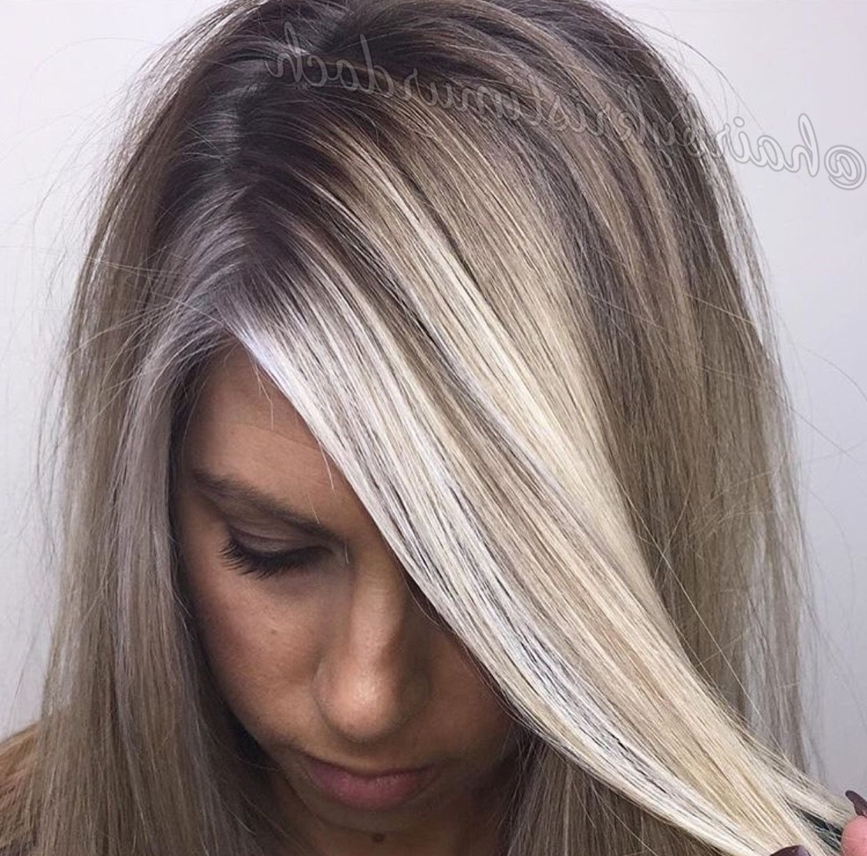 Baby Lights, Babylights, Shadow Root, Root Smudge, Balayage, Ash Intended For Most Recent Ashy Blonde Pixie Hairstyles With A Messy Touch (View 12 of 20)