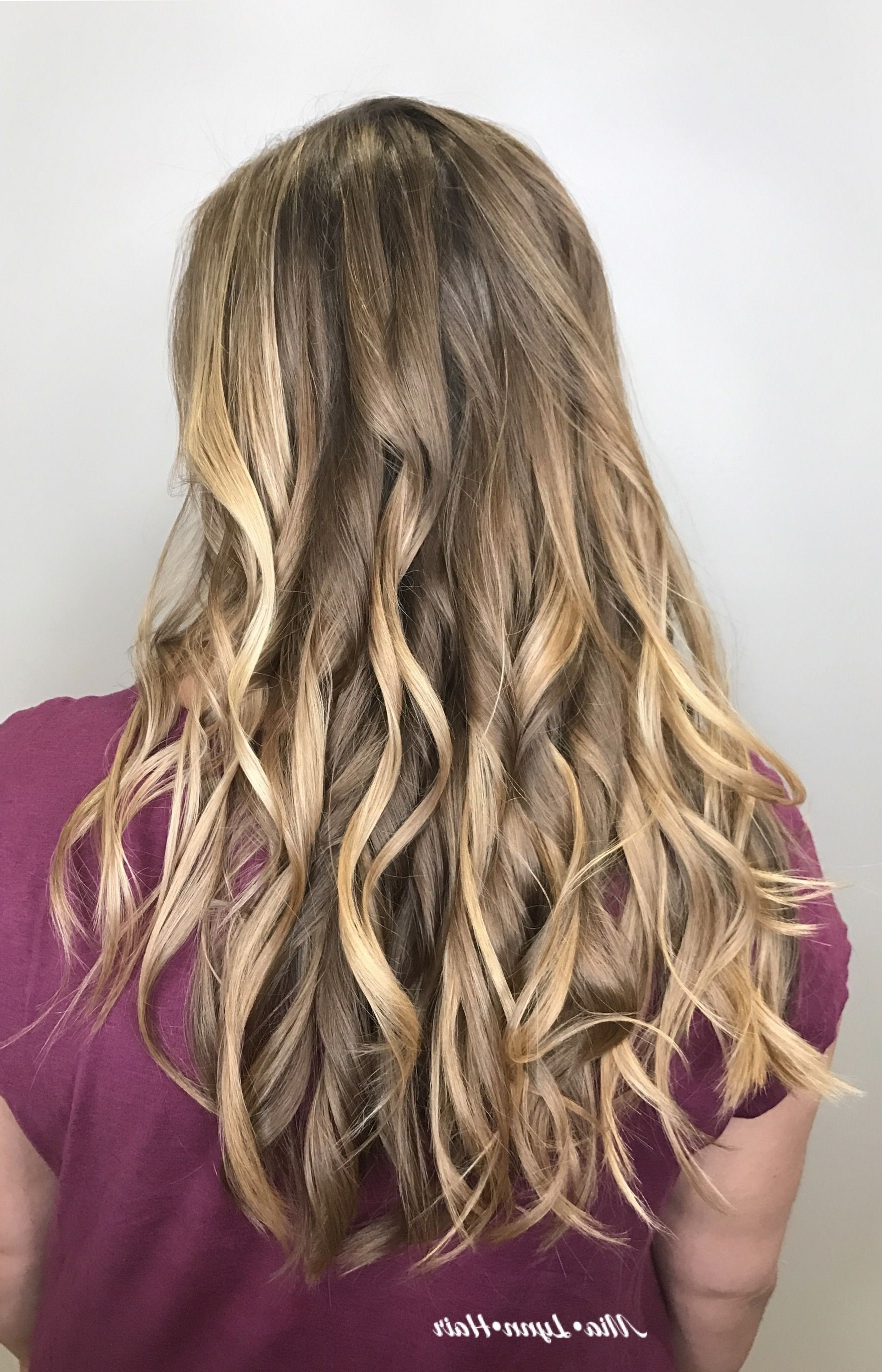 Balayage, Foilayage, Blonde Brunette, Bronde, Warm Balayage Regarding Widely Used Bronde Beach Waves Blonde Hairstyles (View 3 of 20)