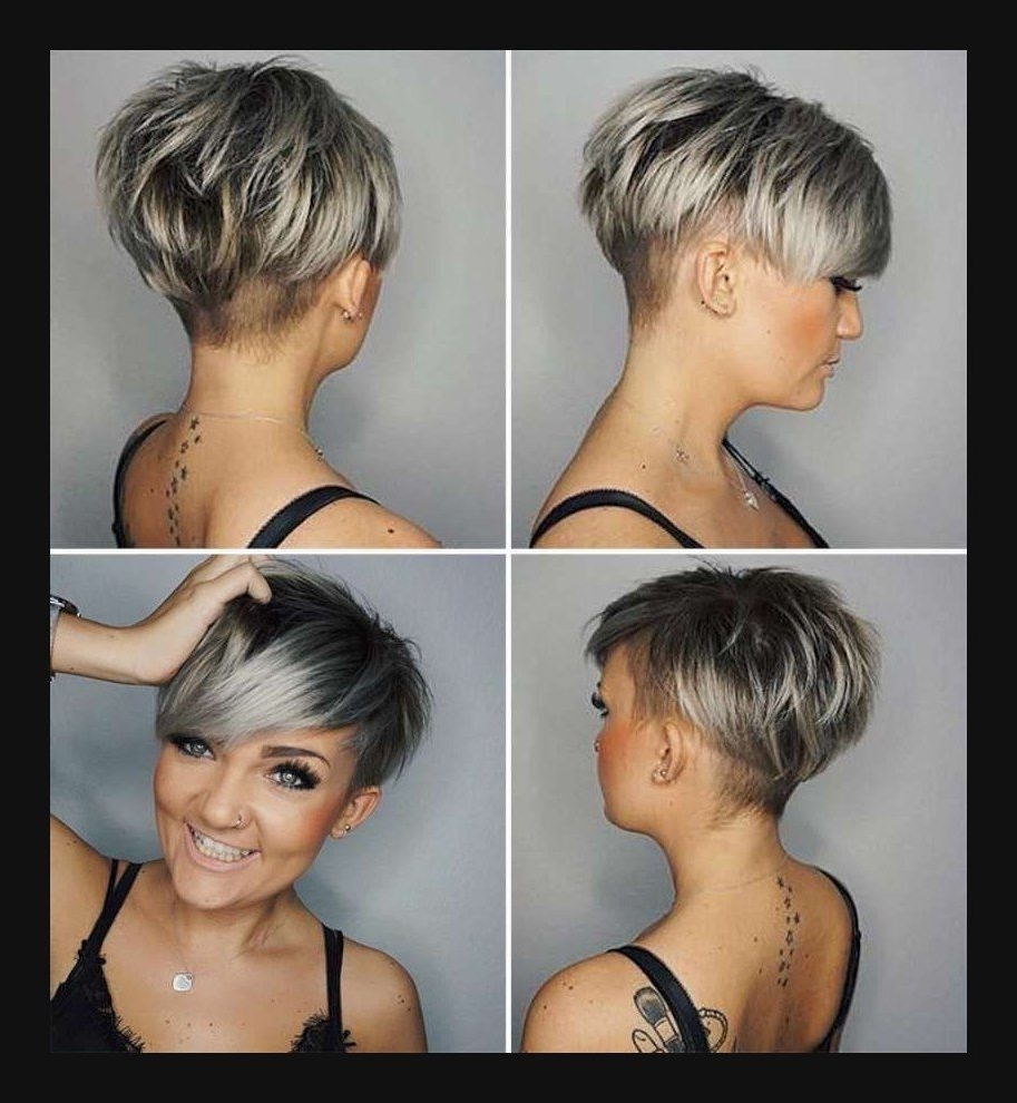 Balayage Hair Inspiration Plus Long Choppy Hairstyles In Favorite Choppy Gray Pixie Hairstyles (View 18 of 20)