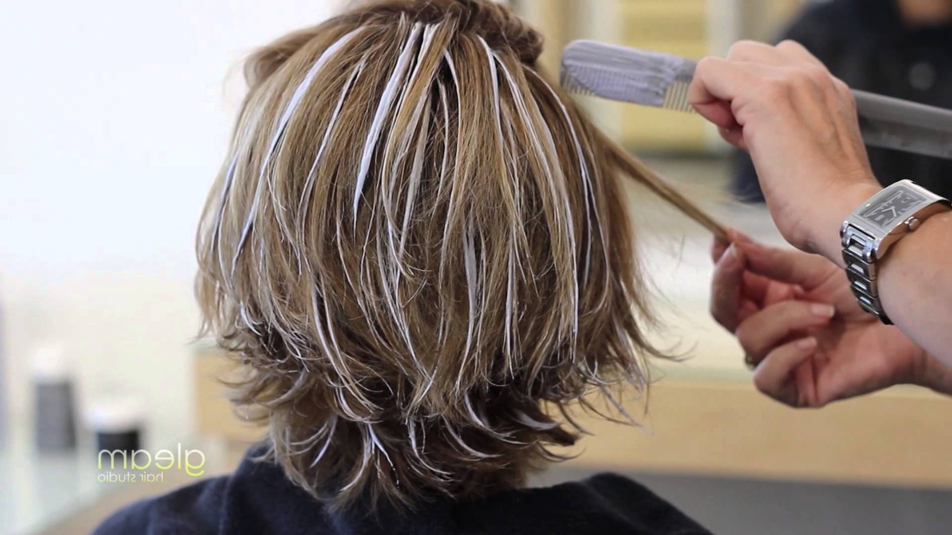 Balayage Highlight Short Hair – Gleam Hair Studio – Miami – – Youtube For Trendy Shaggy Pixie Hairstyles With Balayage Highlights (View 7 of 20)