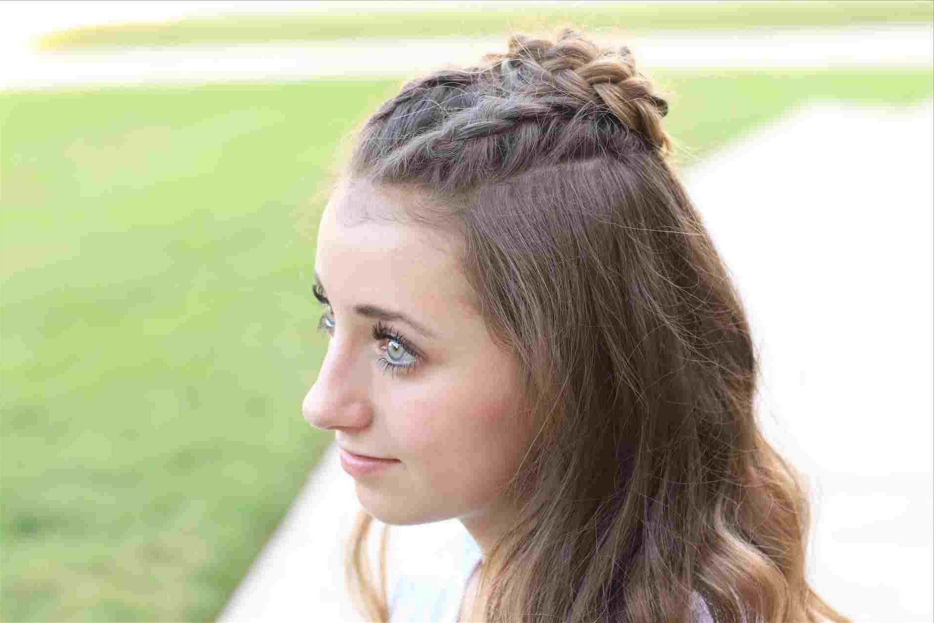 Beautiful Braid Pinterest Side Curls Prom Rhpinterestcouk Beautiful With Regard To Most Recent Half Up Half Down Ponytail Hairstyles (View 18 of 20)
