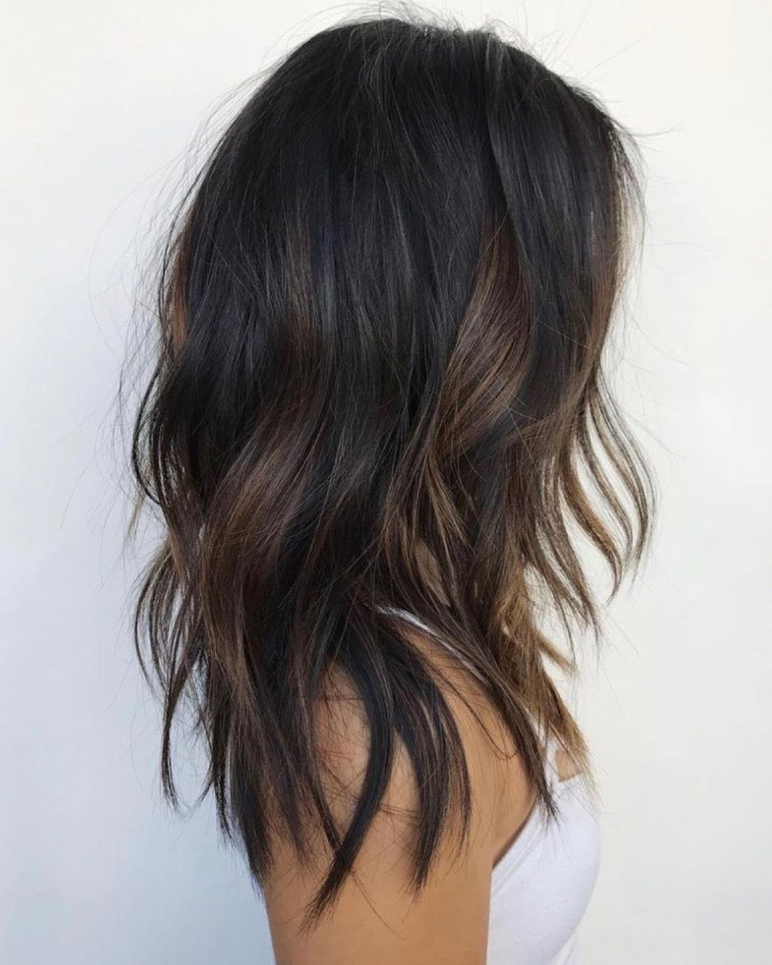 Beautiful Dark Cool And Warm Balayage— Dark, Cool Toned Root Fading Regarding Famous Dark Locks Blonde Hairstyles With Caramel Highlights (View 12 of 20)