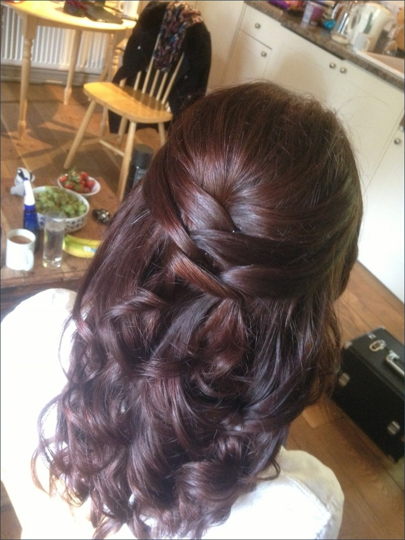 Beautiful Prom Hairstyles Half Updos – Hairstyles Ideas In Most Recently Released Formal Half Ponytail Hairstyles (View 6 of 20)