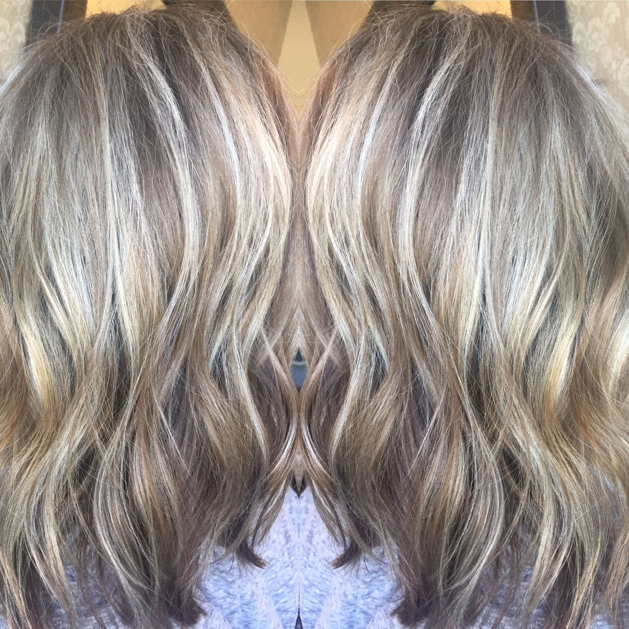 Beautiful Silver Blonde Lob,'platinum Blonde, Ash Blonde, Light Throughout Recent Dark And Light Contrasting Blonde Lob Hairstyles (View 4 of 20)
