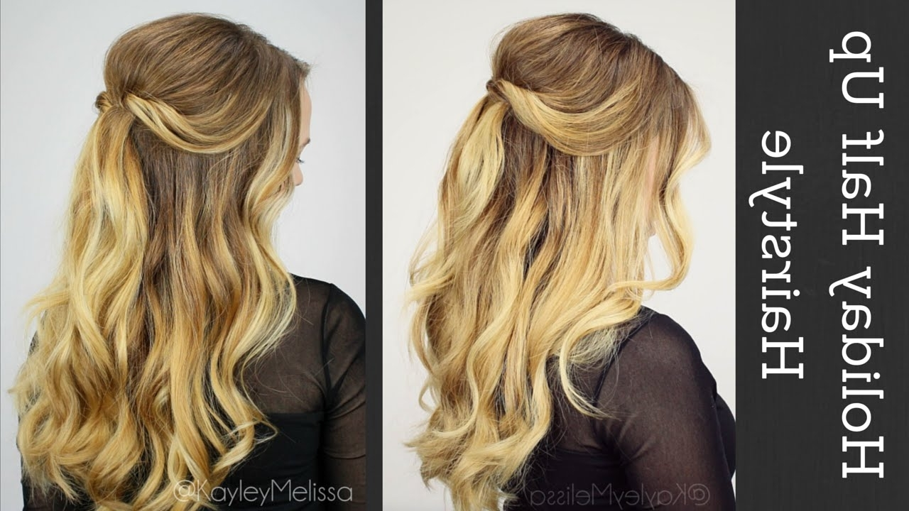 Featured Photo of Beachy Half Ponytail Hairstyles