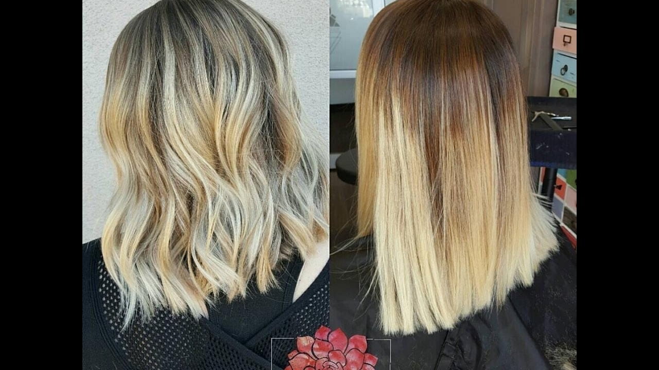 Best And Newest Blonde Color Melt Hairstyles Intended For How To: Color Melting, Rootshading, And Glossing! – Youtube (View 4 of 20)