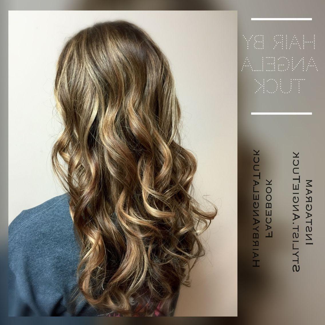 Best And Newest Bronde Beach Waves Blonde Hairstyles In Amazing Diional Bronde Dark Blonde Long Hair Beach Waves Curls Pics (View 4 of 20)