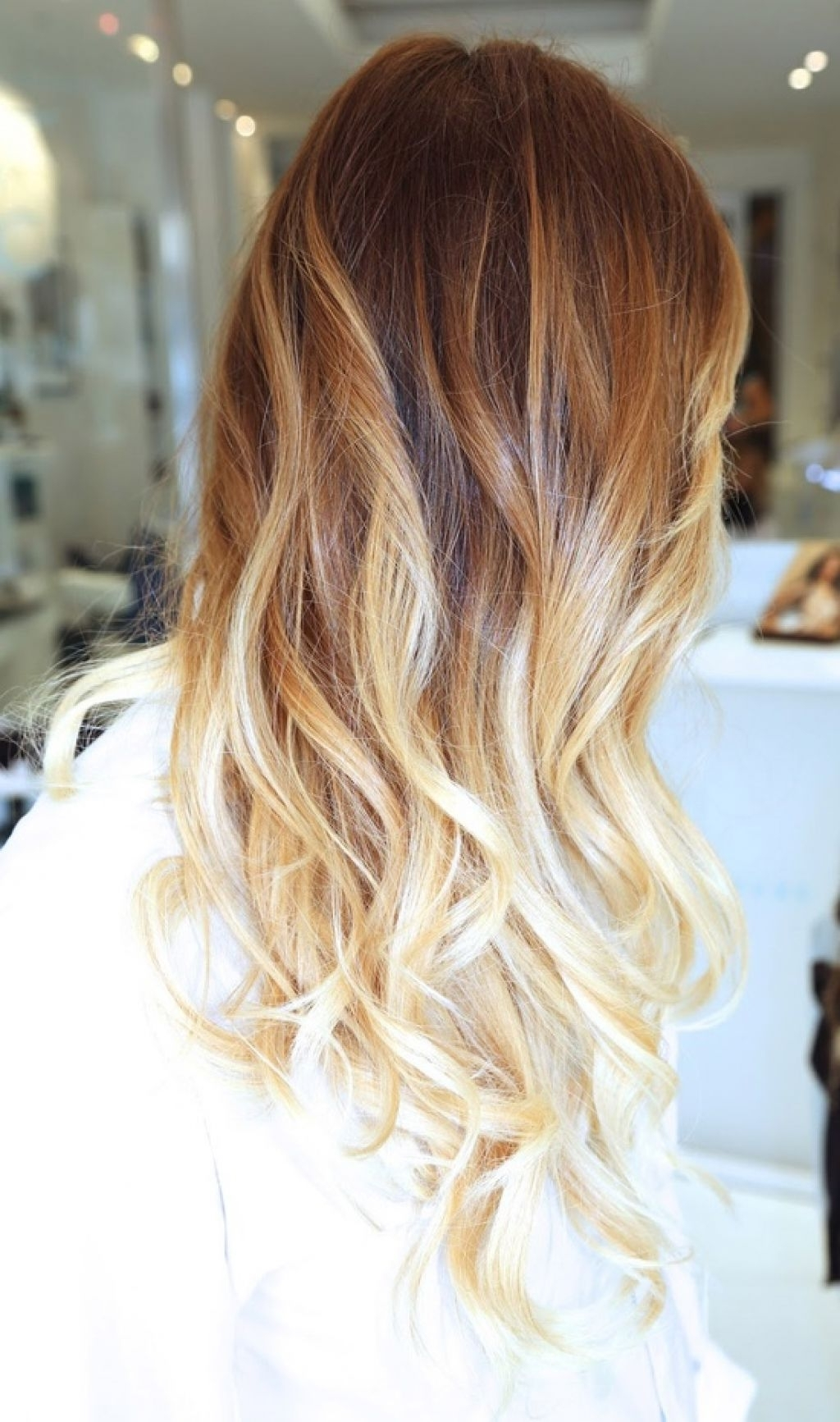 Best And Newest Caramel Blonde Hairstyles With Caramel Hair With Honey Ombre Hairstyle Color – Girly Hairstyle (View 4 of 20)