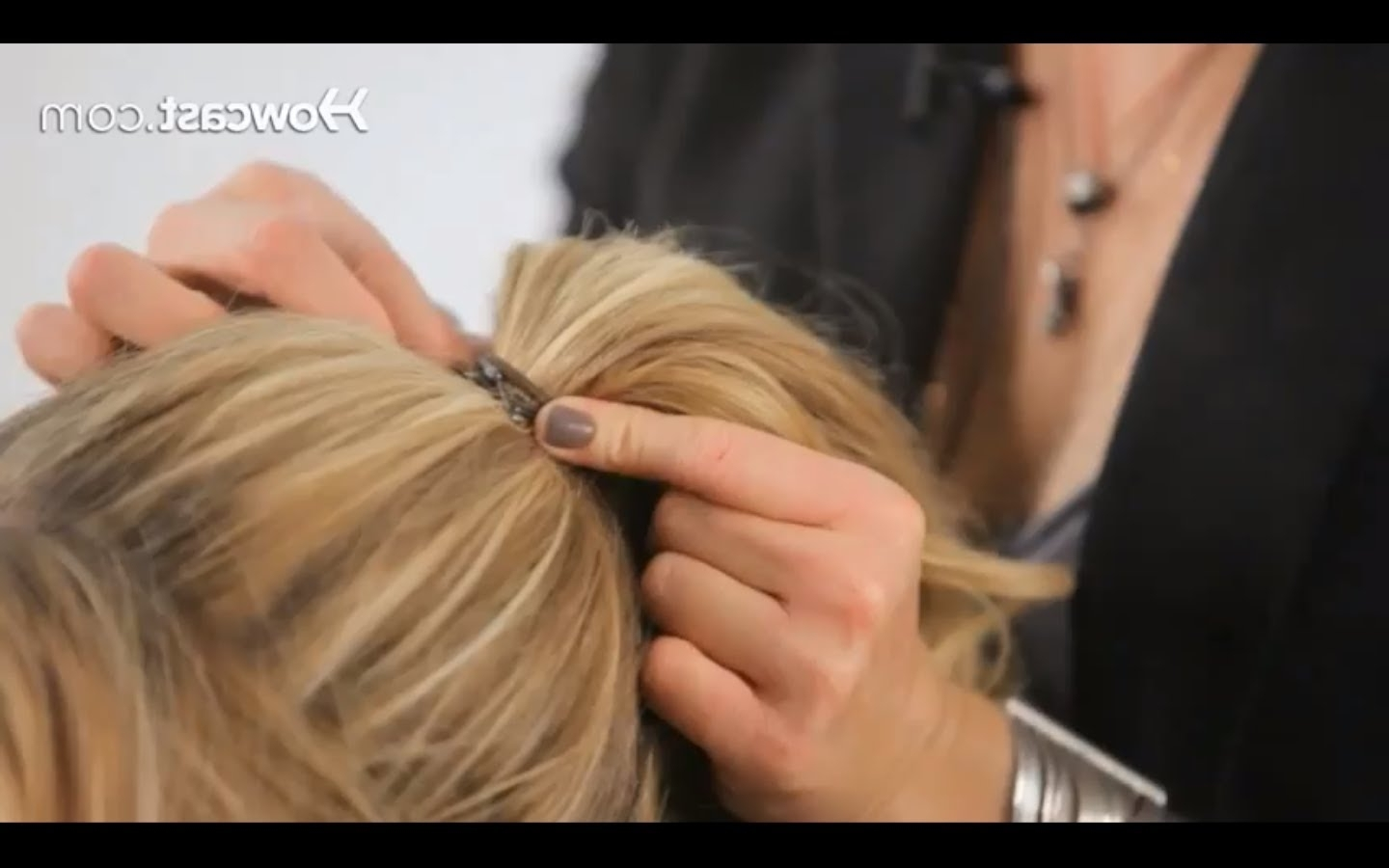 Best And Newest Mature Poofy Ponytail Hairstyles With Regard To How To Create A Basic Ponytail (View 13 of 20)