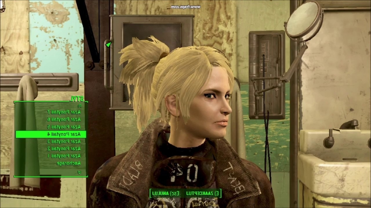 Best And Newest Mod Ponytail Hairstyles Intended For Fallout 4 – Ponytail Hairstylesazar Mod – Youtube (View 4 of 20)