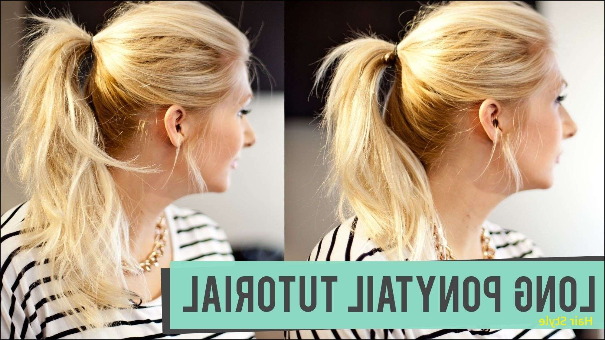 Best And Newest Ponytail Hairstyles For Layered Hair Intended For Ponytail Hairstyles For Short Hair New Hairstyles Ponytails Medium (View 15 of 20)
