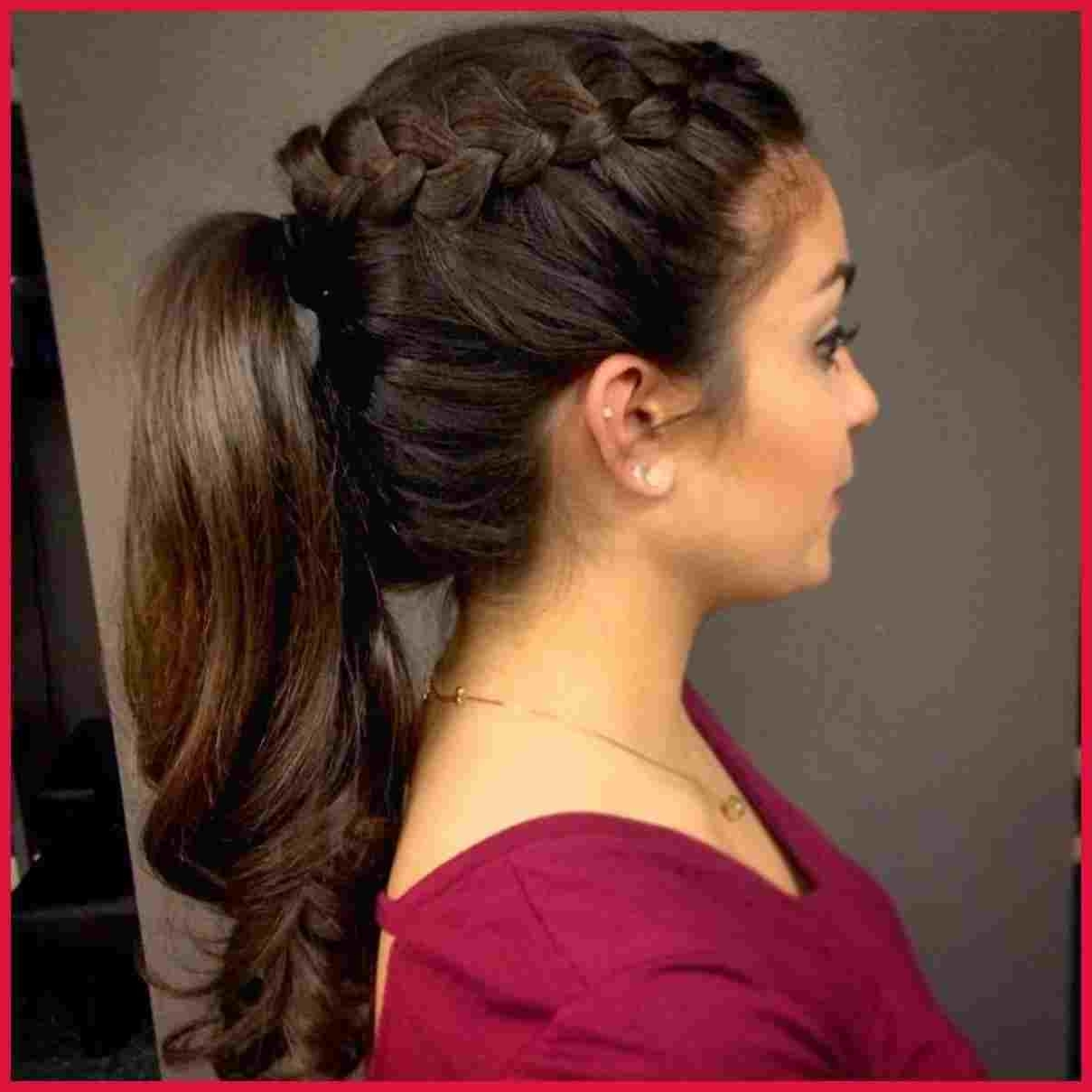Best And Newest Side Ponytail Hairstyles With Braid With Regard To Style Pinterest Rhpinterestcom Side Ponytail With Braid Volume (View 2 of 20)