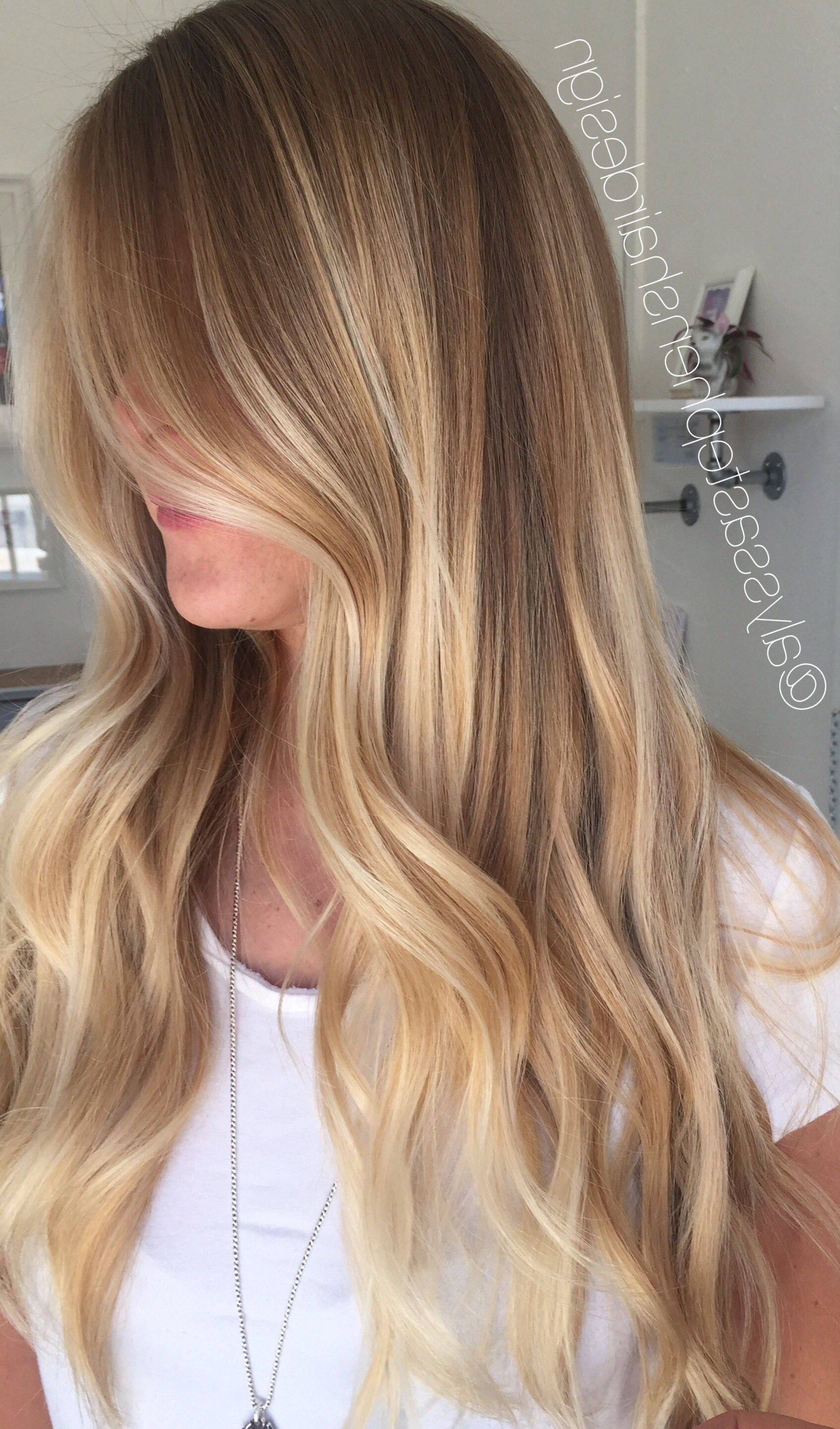 Featured Photo of Sunkissed Long Locks Blonde Hairstyles