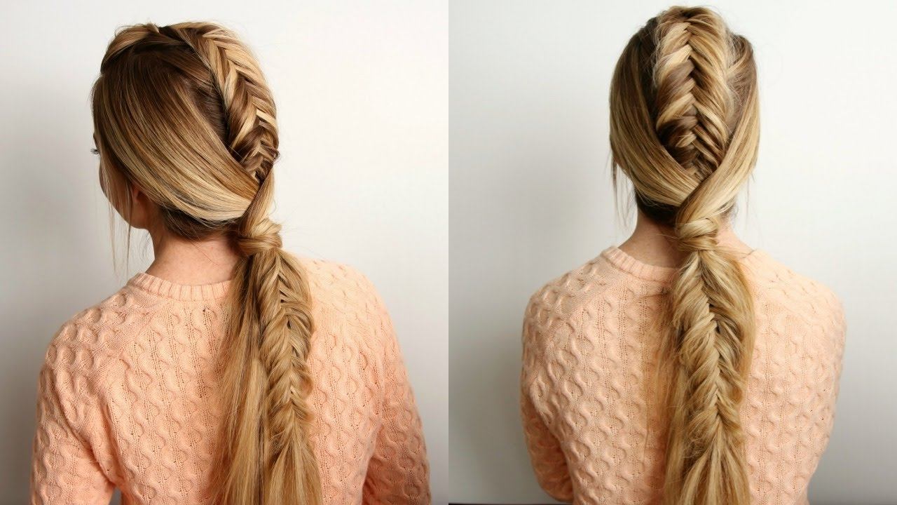 Featured Photo of Undone Fishtail Mohawk Hairstyles