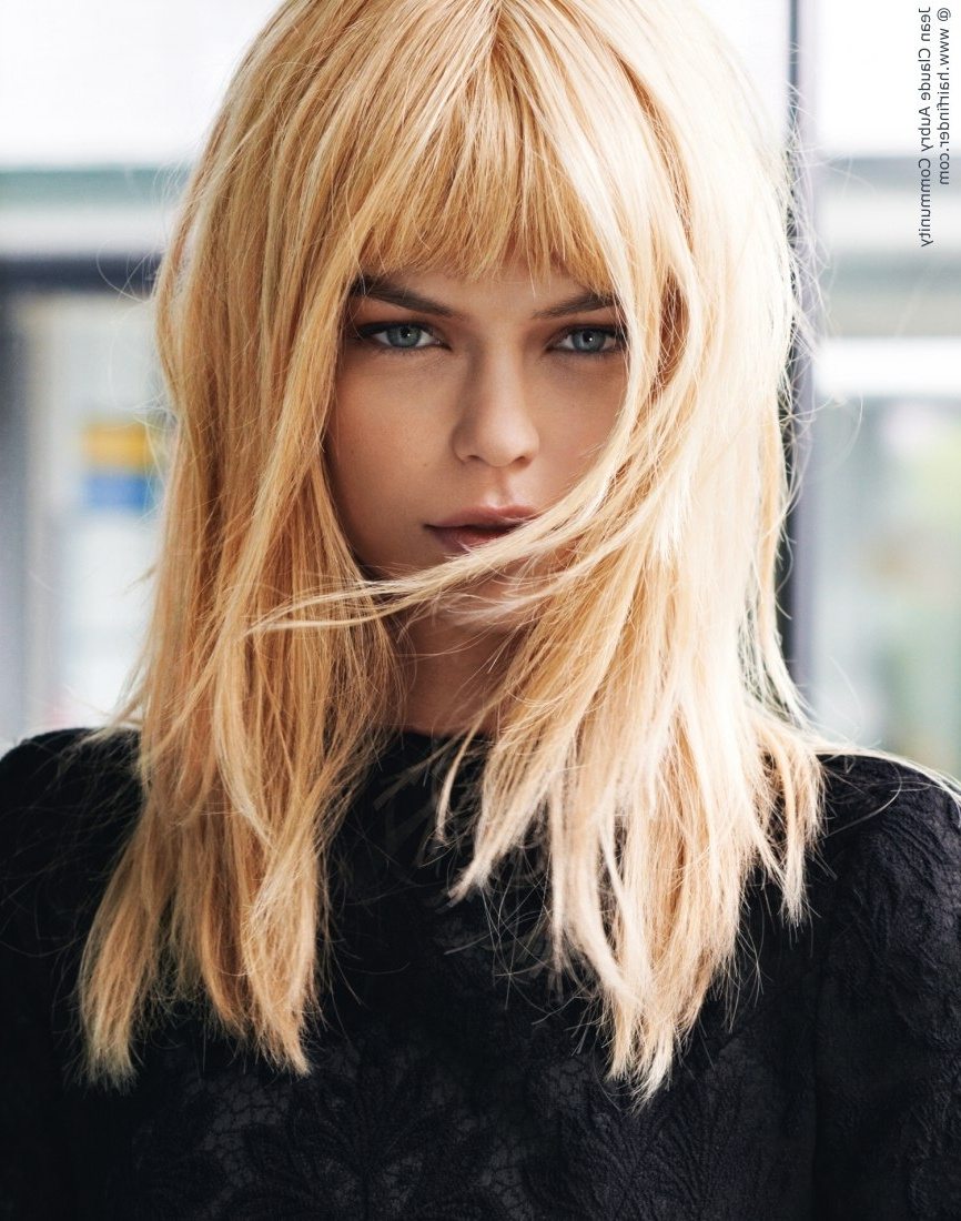 Best And Newest Wheat Blonde Hairstyles For Long Blonde Hairstyles With Bangs Simple Long Blonde Hair With (View 5 of 20)