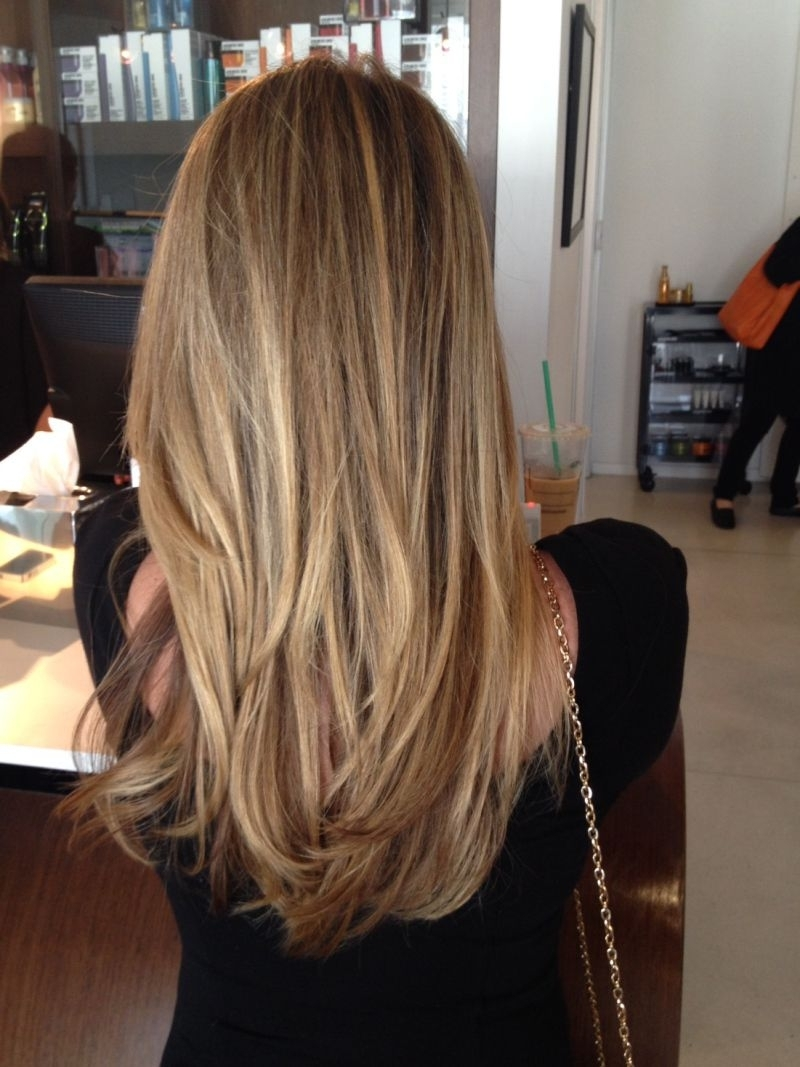 Best And Newest Wheat Blonde Hairstyles Regarding Honey Blonde (View 6 of 20)