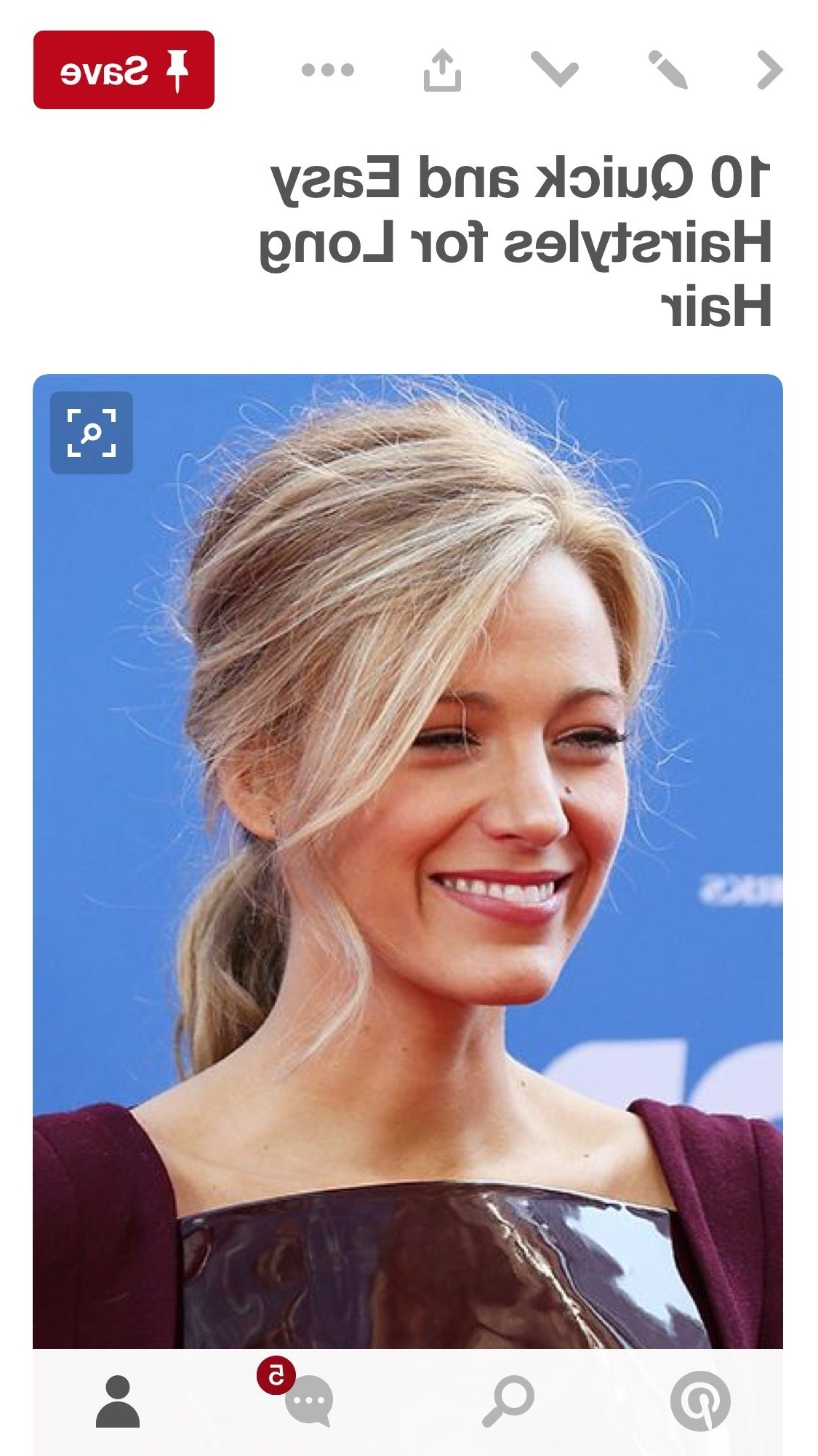 Blake Lively, Prom Hair And (View 17 of 20)