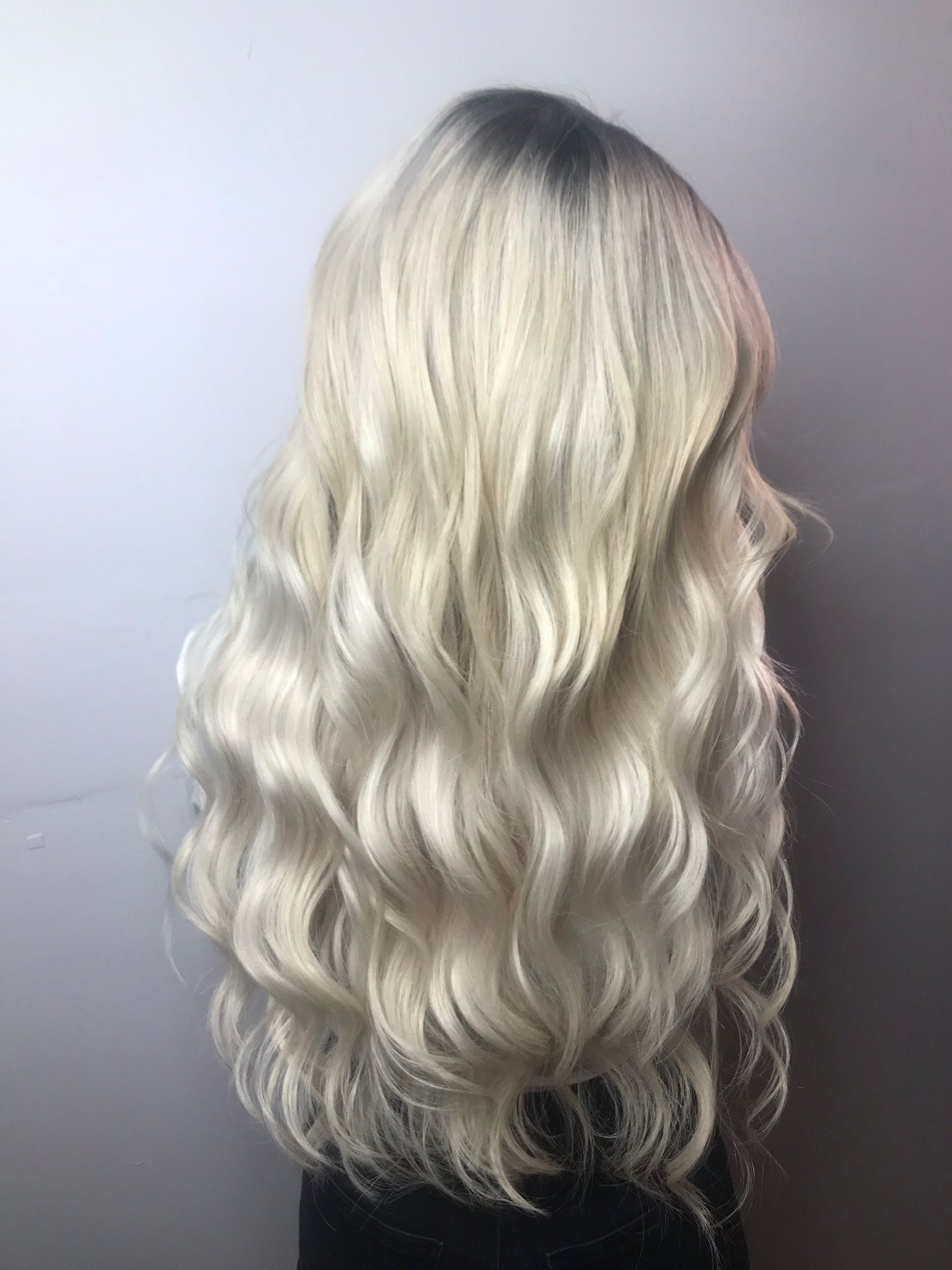 Blonde Blondes Bright Blondes Creamy Blondes Waves Style Ashy Throughout Well Known Creamy Blonde Waves With Bangs (View 7 of 20)