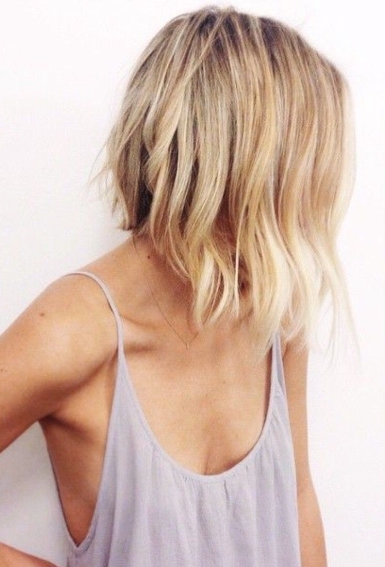 Blonde Bob. Love The More Natural Line To The Inverted Bob (View 16 of 20)