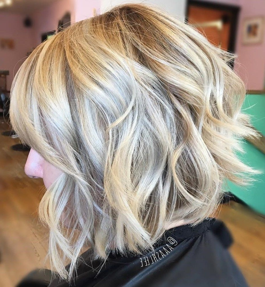 Blonde Bobs Within Preferred Wavy Blonde Bob Hairstyles (View 7 of 20)