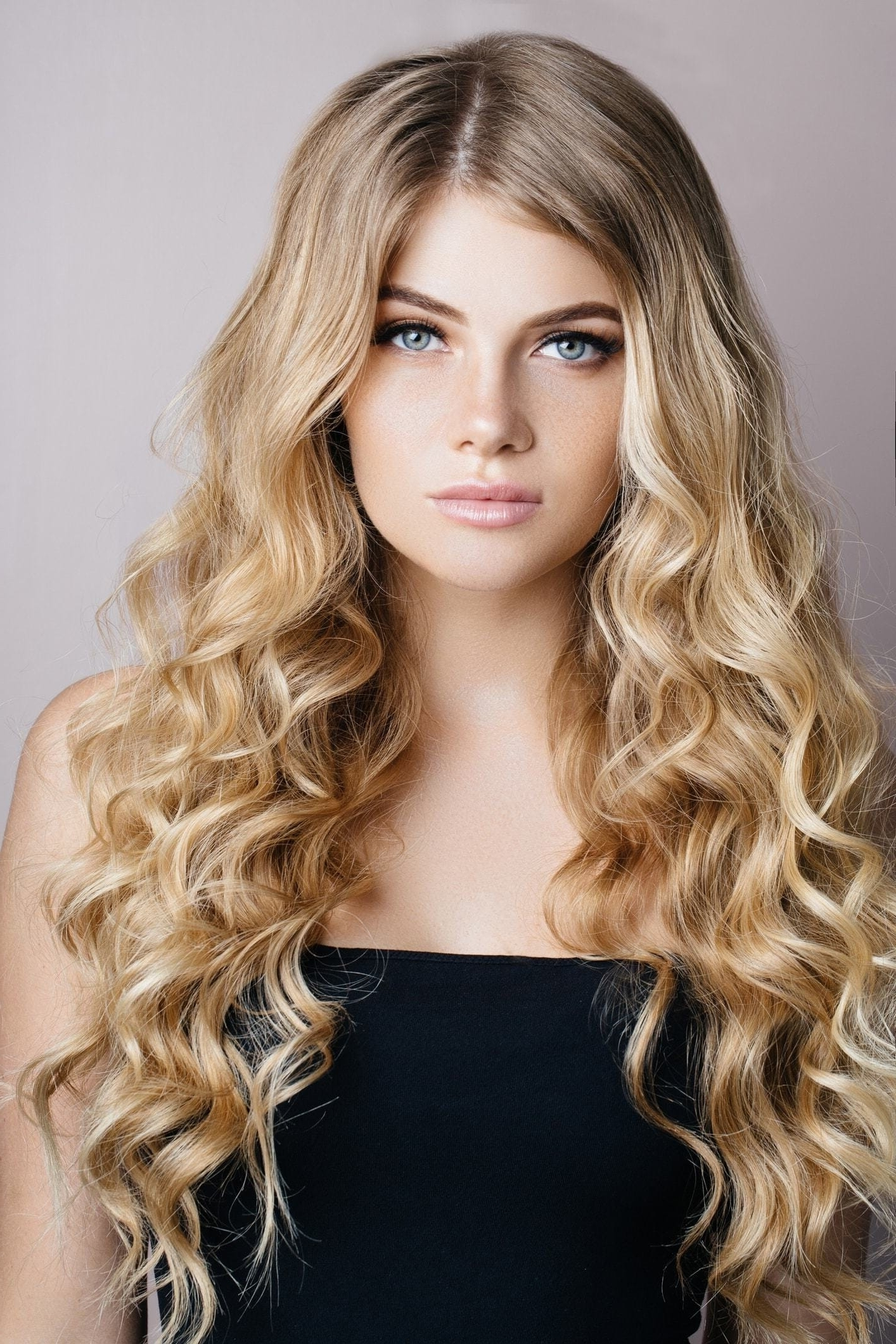 Blonde Curly Hair: 16 Bold And Beautiful Ways To Wear The Look For Most Popular Warm Blonde Curls Blonde Hairstyles (View 5 of 20)