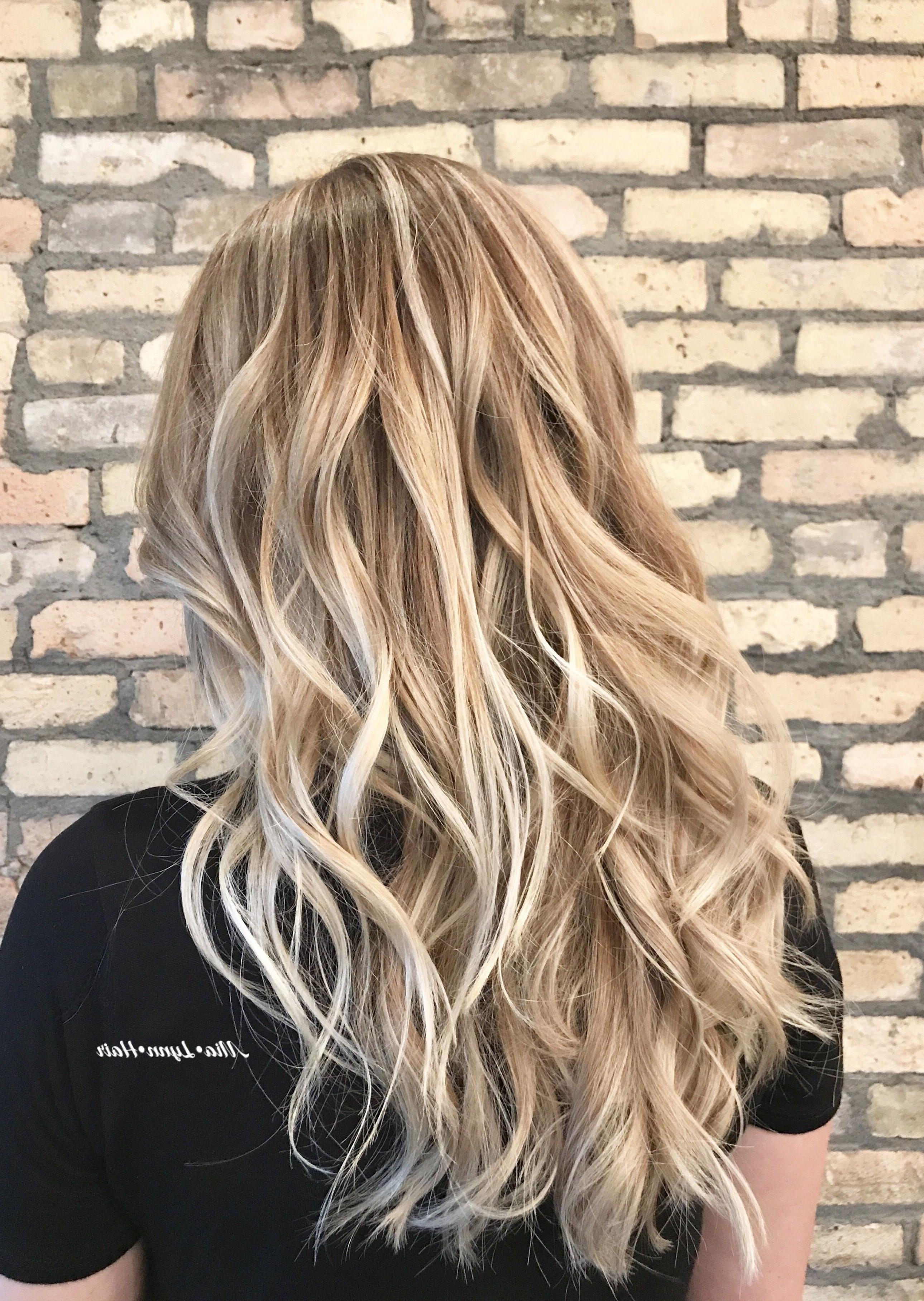 Blonde, Dimensional Blonde, Balayage, Blonde Balayage, Face Framing With Regard To Most Recent Dishwater Waves Blonde Hairstyles (View 11 of 20)