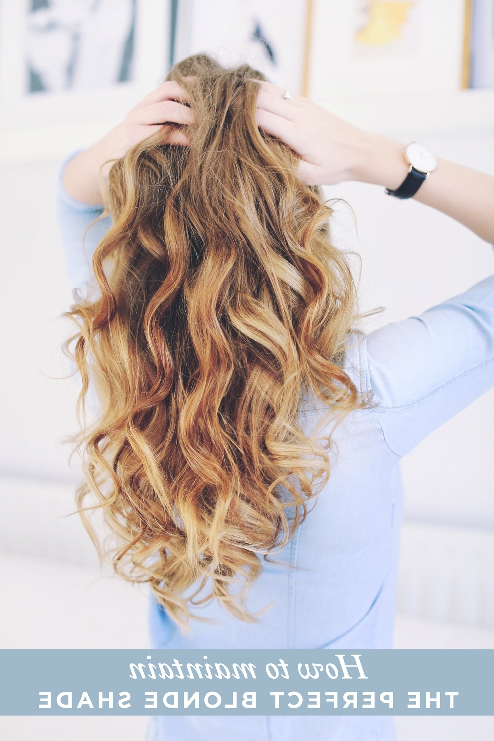 Blonde Hair Care: How To Maintain The Perfect Blonde Shade – Luxy Hair Throughout Most Up To Date Warm Blonde Curls Blonde Hairstyles (View 7 of 20)
