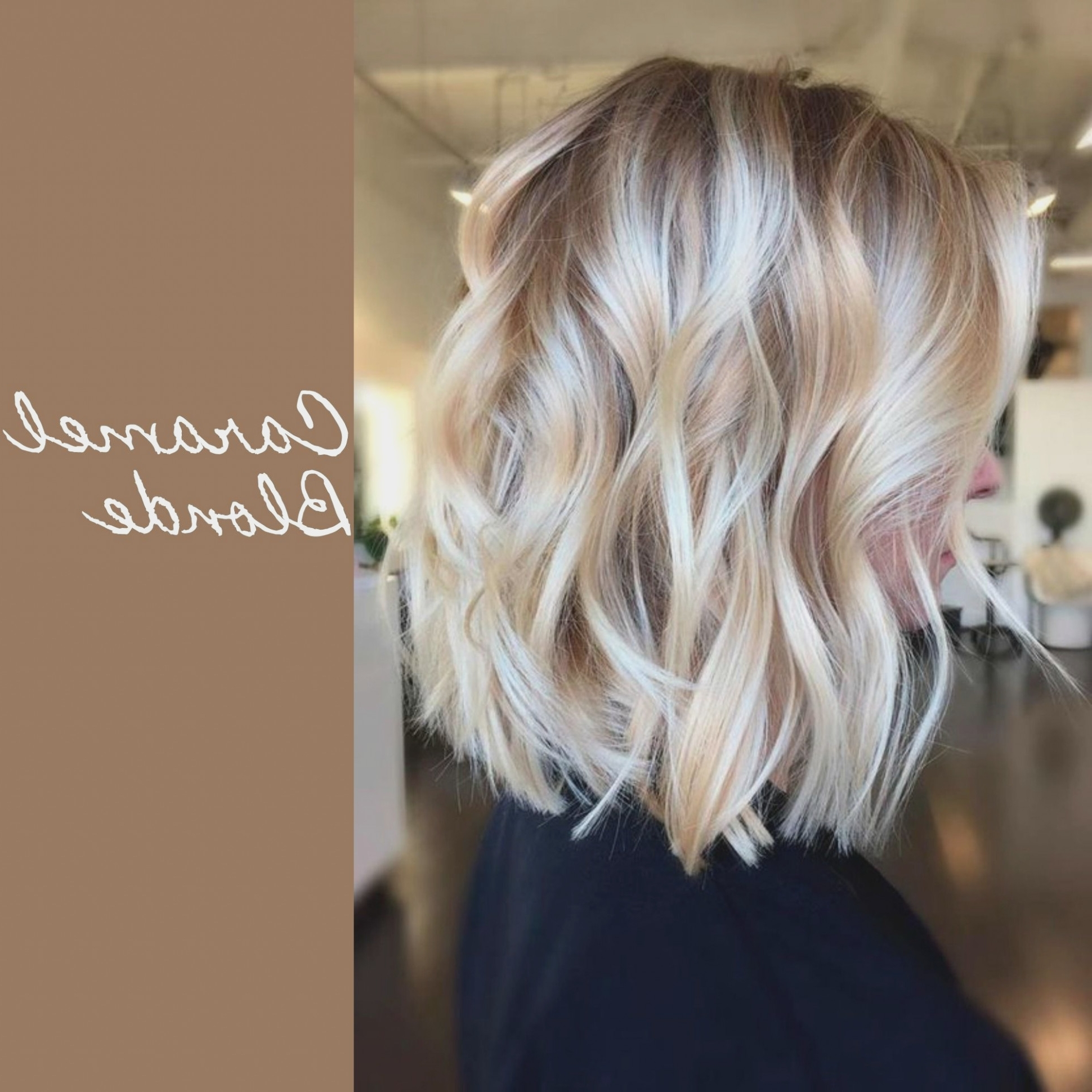 Blonde Hair With Caramel Lowlights #caramelhaircolour (View 9 of 20)