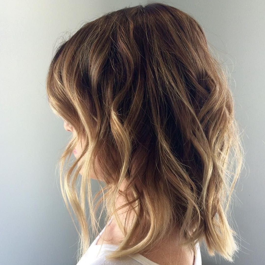 Blonde Highlights – Brunette Lowlights – Caramel Highlights Inside 2018 Beachy Waves Hairstyles With Blonde Highlights (View 8 of 20)