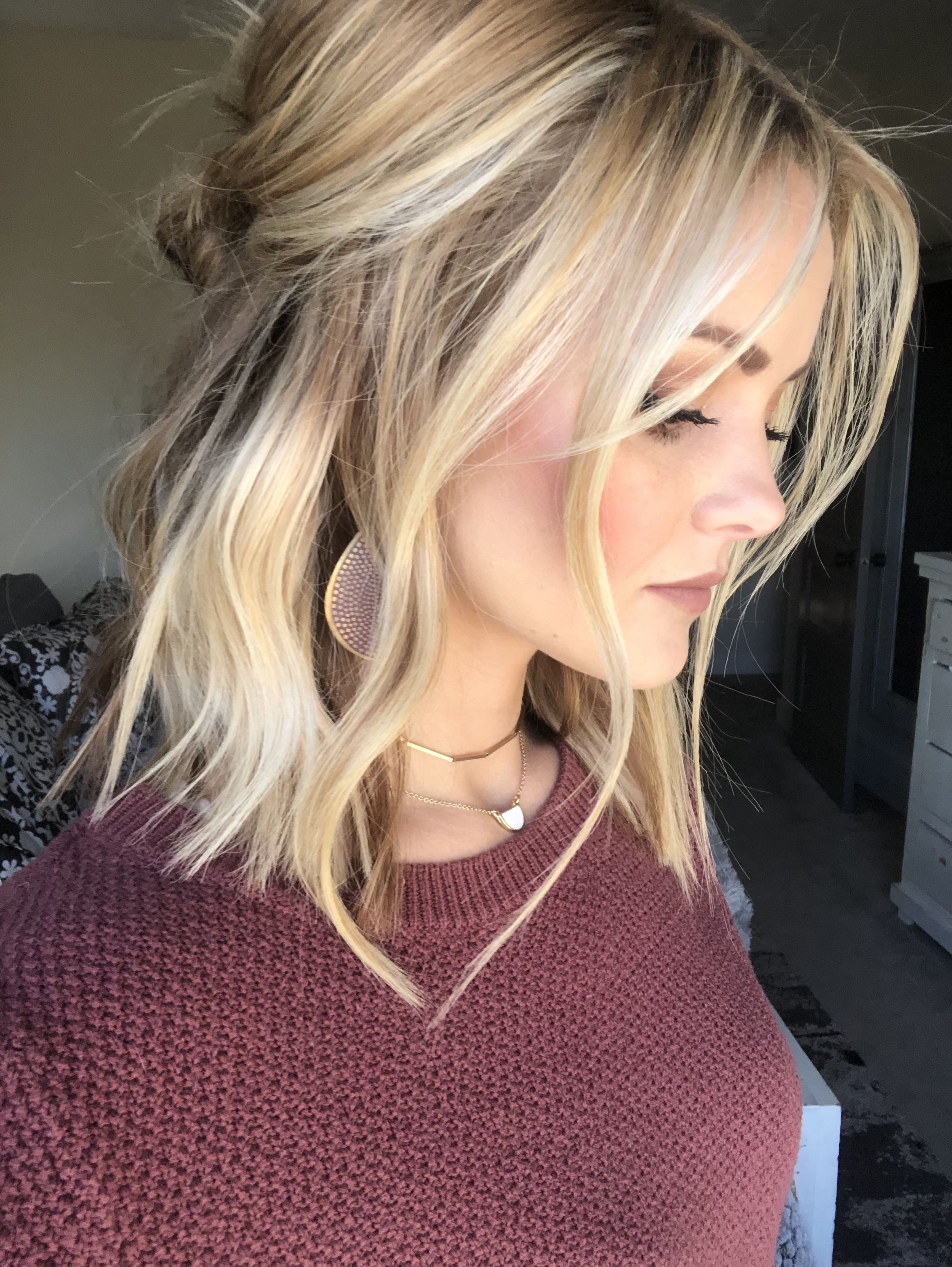 Blonde Lob In 2017 Ice Blonde Lob Hairstyles (View 3 of 20)