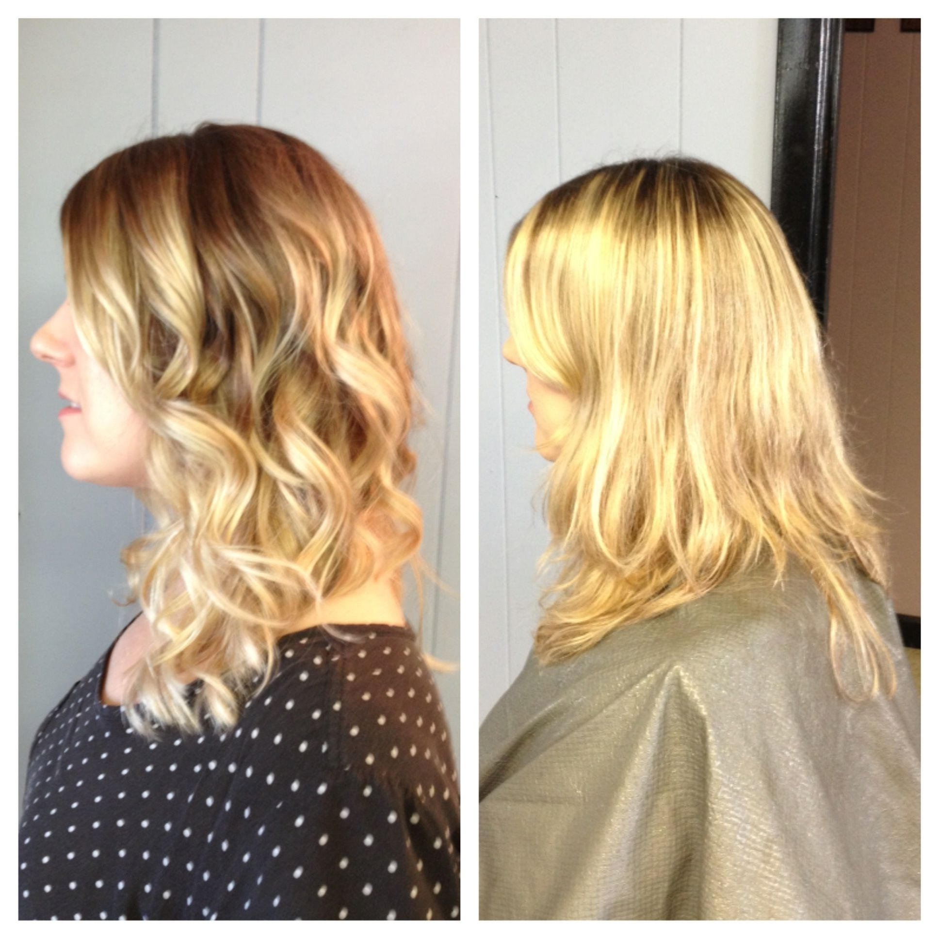Blonde Ombré Before And After (View 4 of 20)
