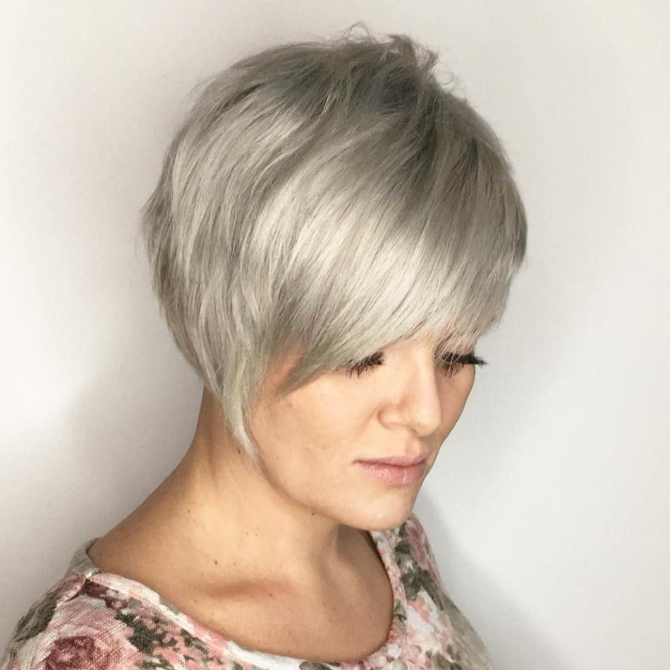 Blonde Pixie, Ash Blonde And Pixies Within Most Up To Date Ravishing Red Pixie Hairstyles (View 8 of 20)