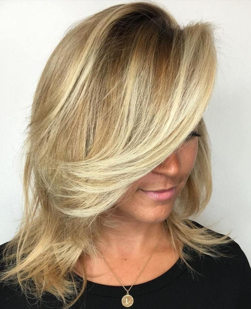 Blonde With Regard To Famous Side Swept Warm Blonde Hairstyles (View 6 of 20)