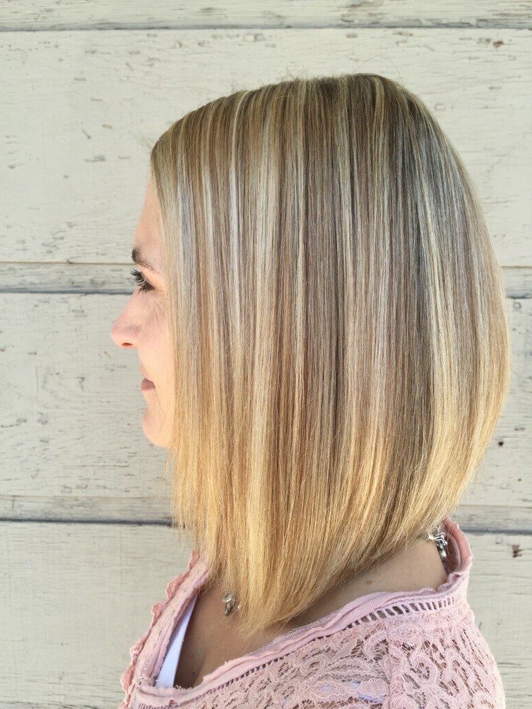 Bobbed Hair Style Plus Highlights And Lowlights And Long Bob In Most Popular Long Bob Blonde Hairstyles With Babylights (View 7 of 20)