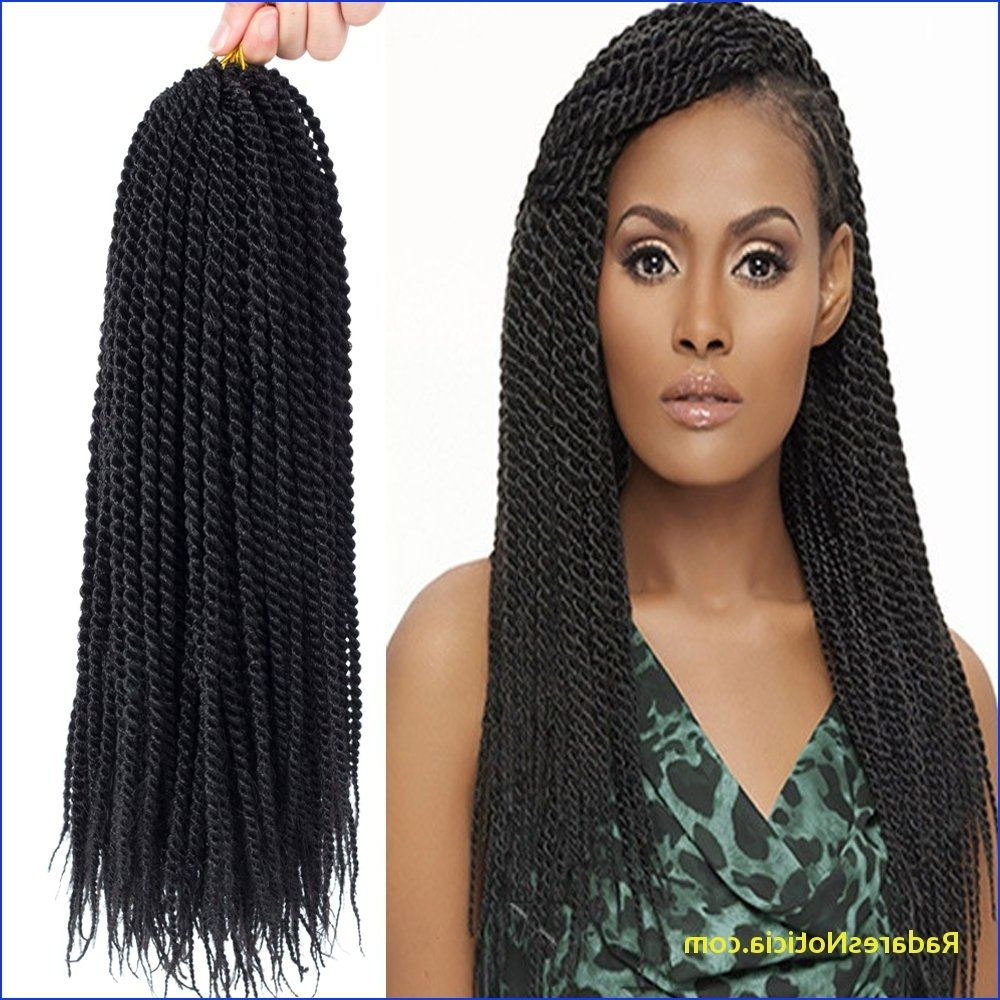 Box Braids Curly Ends Amazon Senegalese Twist Crochet Hair Three In Most Current Braids With Curls Hairstyles (View 5 of 20)