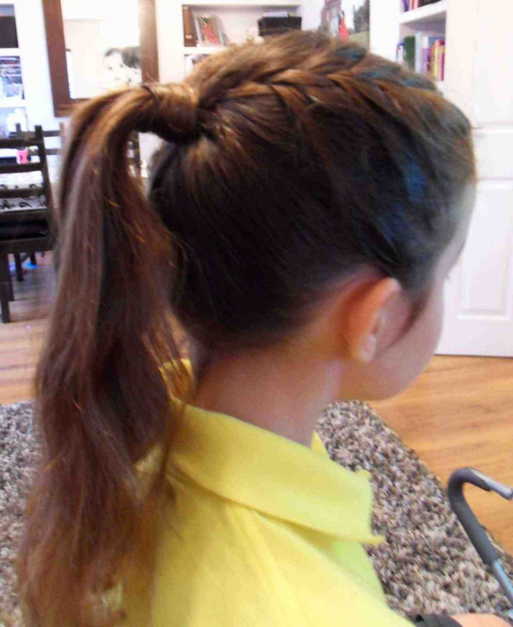 Braid Hairstyles Short Hair Inspirational Ponytail Hairstyles For In Most Popular French Braid Ponytail Hairstyles (View 4 of 20)