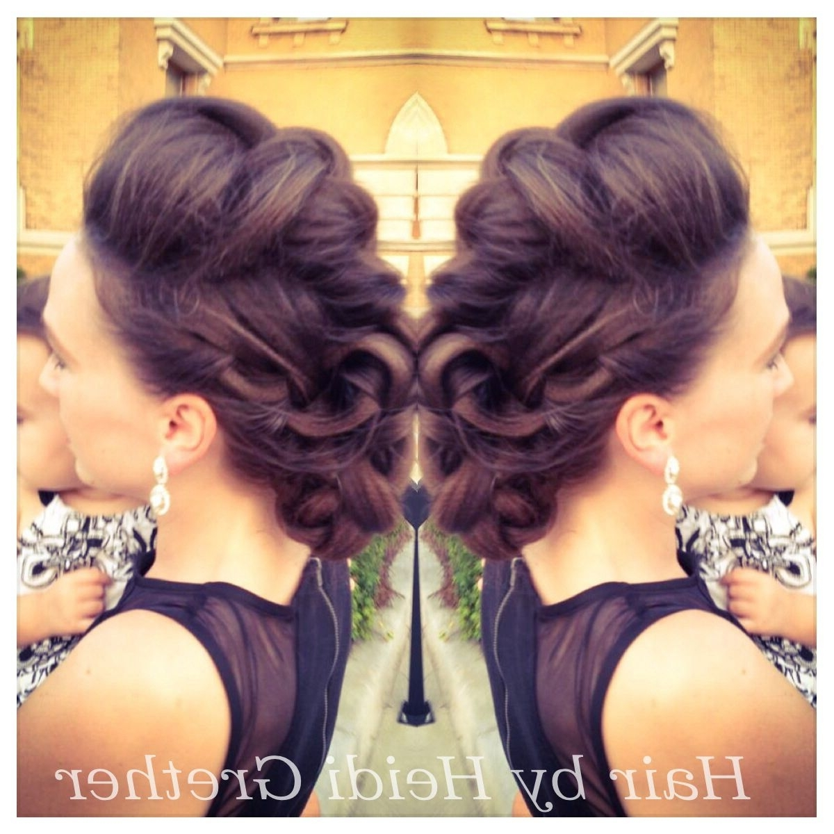 Braided Faux With Most Current Fierce Faux Mohawk Hairstyles (View 3 of 20)