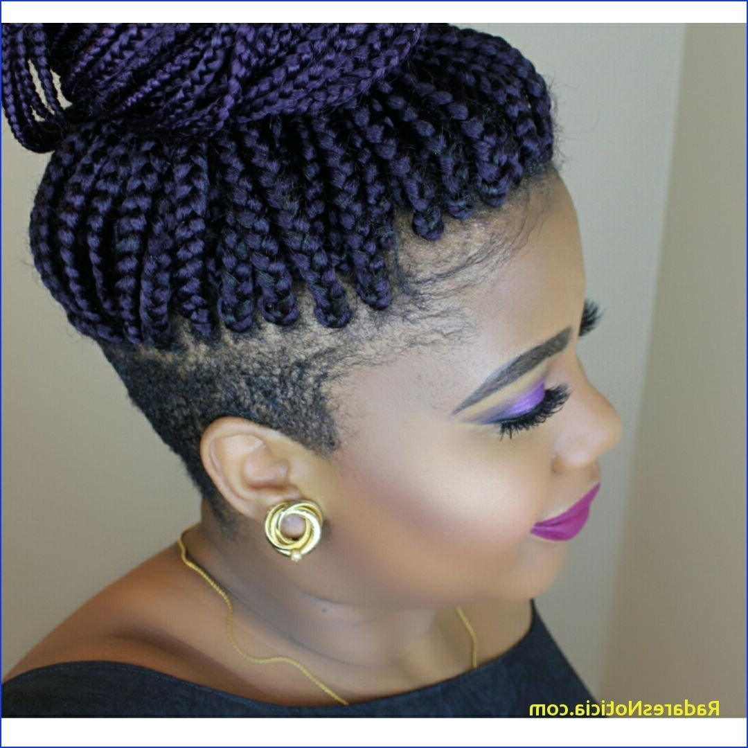 Braided Mohawk Hairstyles Braids With Shaved Sides Braidsjuz Pertaining To Latest Braided Hawk Hairstyles (View 5 of 20)