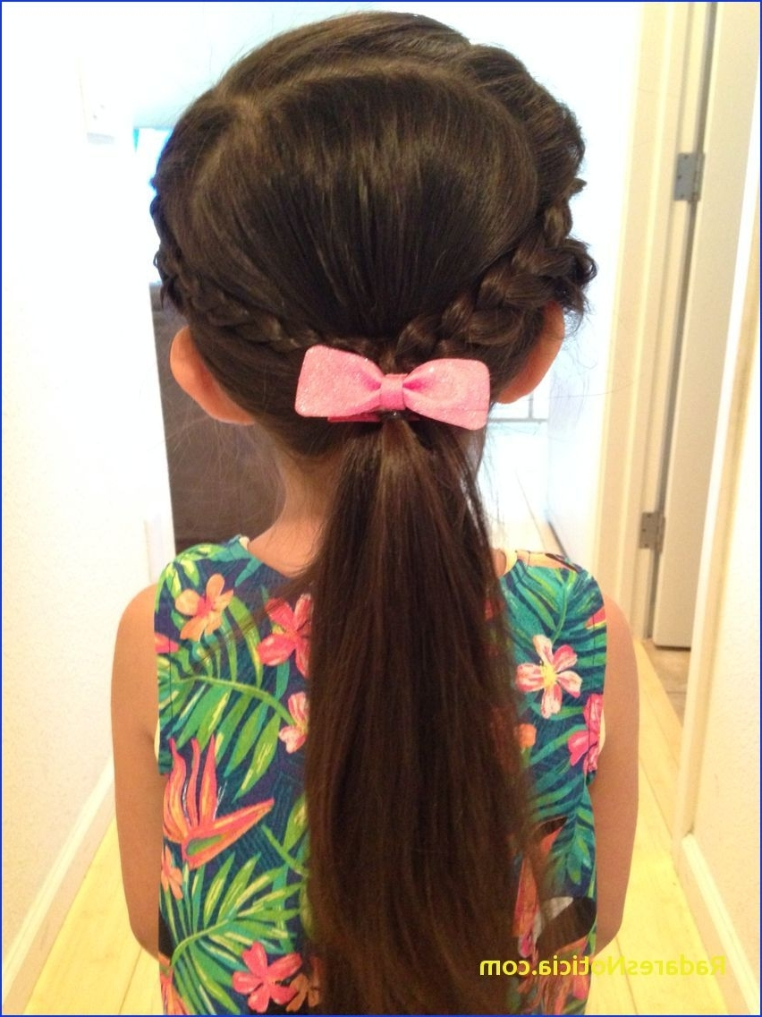 Braided Ponytail Hairstyles French Braided Bangs Then Tied Into A In Most Current French Braid Ponytail Hairstyles (View 14 of 20)