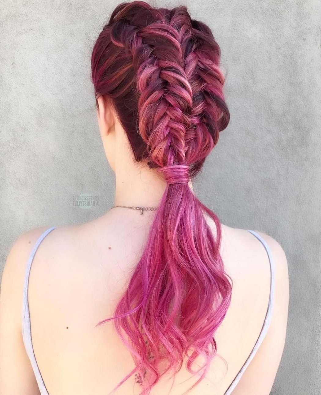 Braided Ponytail Ideas: 40 Cute Ponytails With Braids (View 6 of 20)