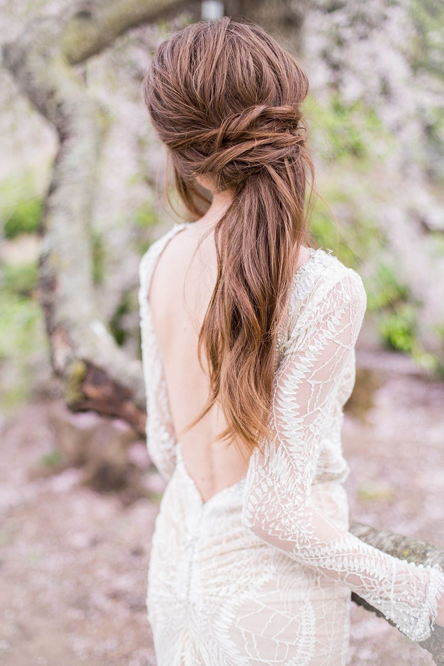Braided Wedding In Most Recent Fabulous Bridal Pony Hairstyles (View 5 of 20)